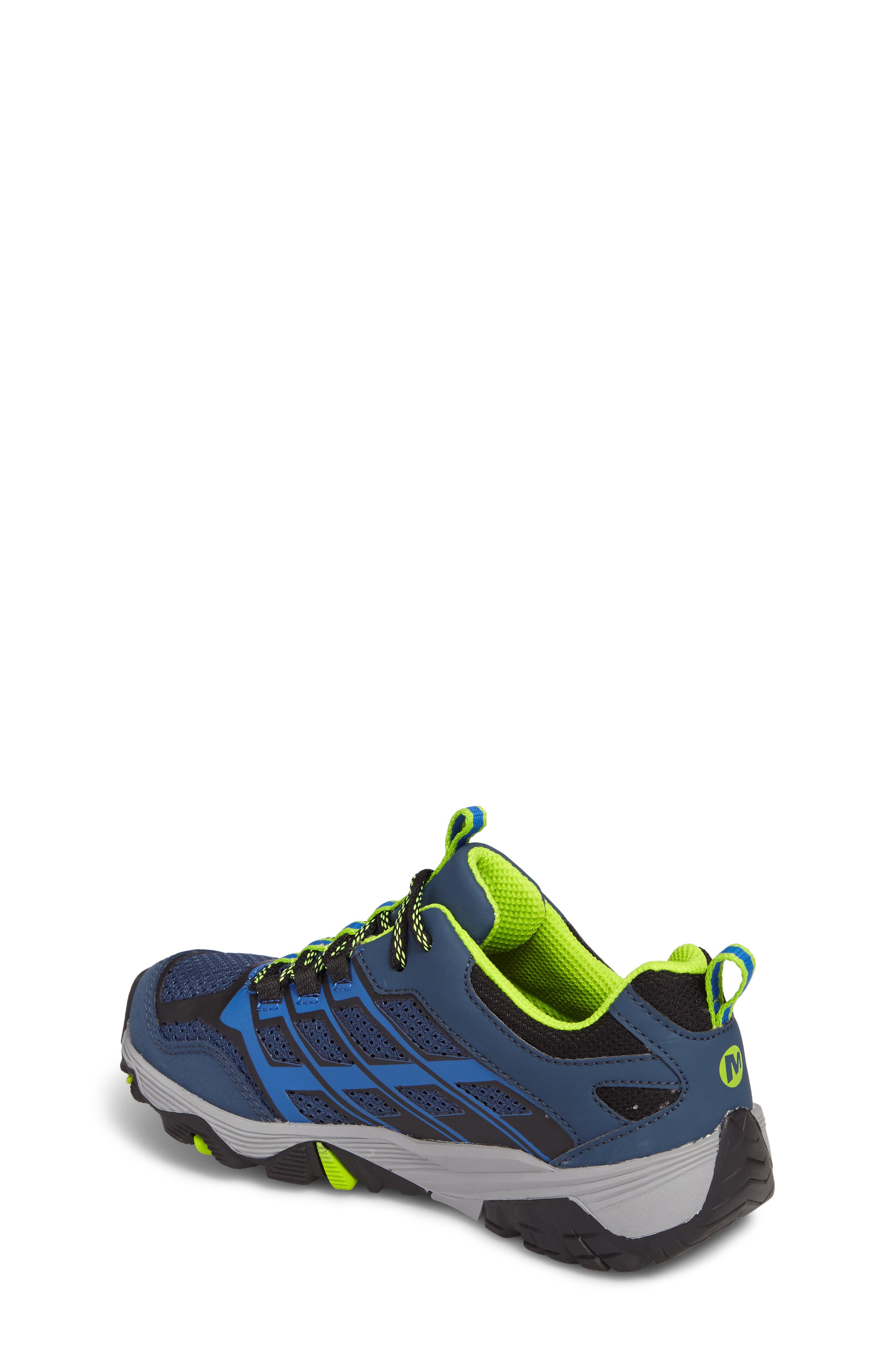 MERRELL, Moab FST Polar Low Waterproof Sneaker, Alternate thumbnail 2, color, NAVY/ BLUE