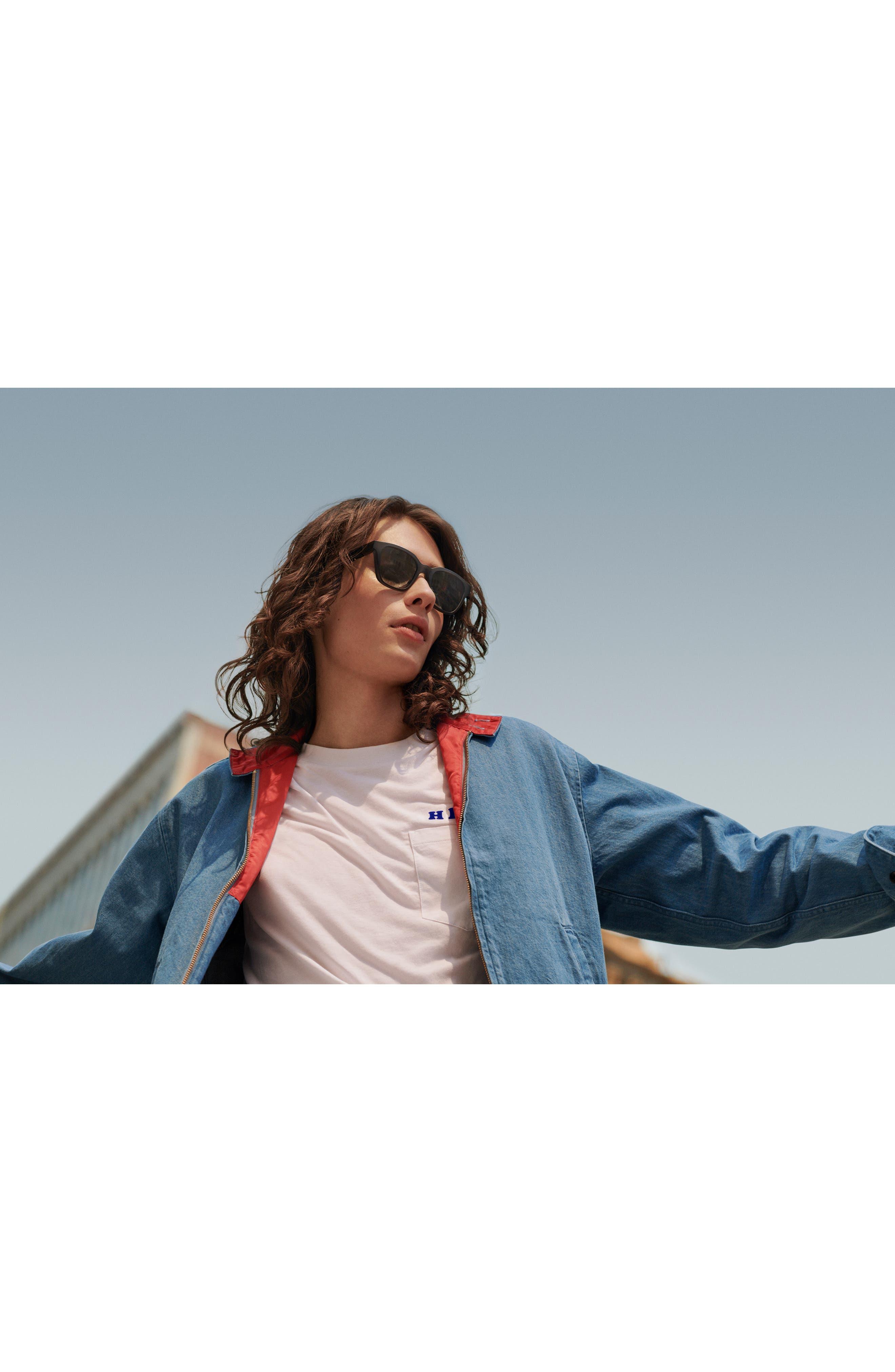 BOSE<SUP>®</SUP>, Frames Alto 52mm Audio Sunglasses, Alternate thumbnail 4, color, BLACK