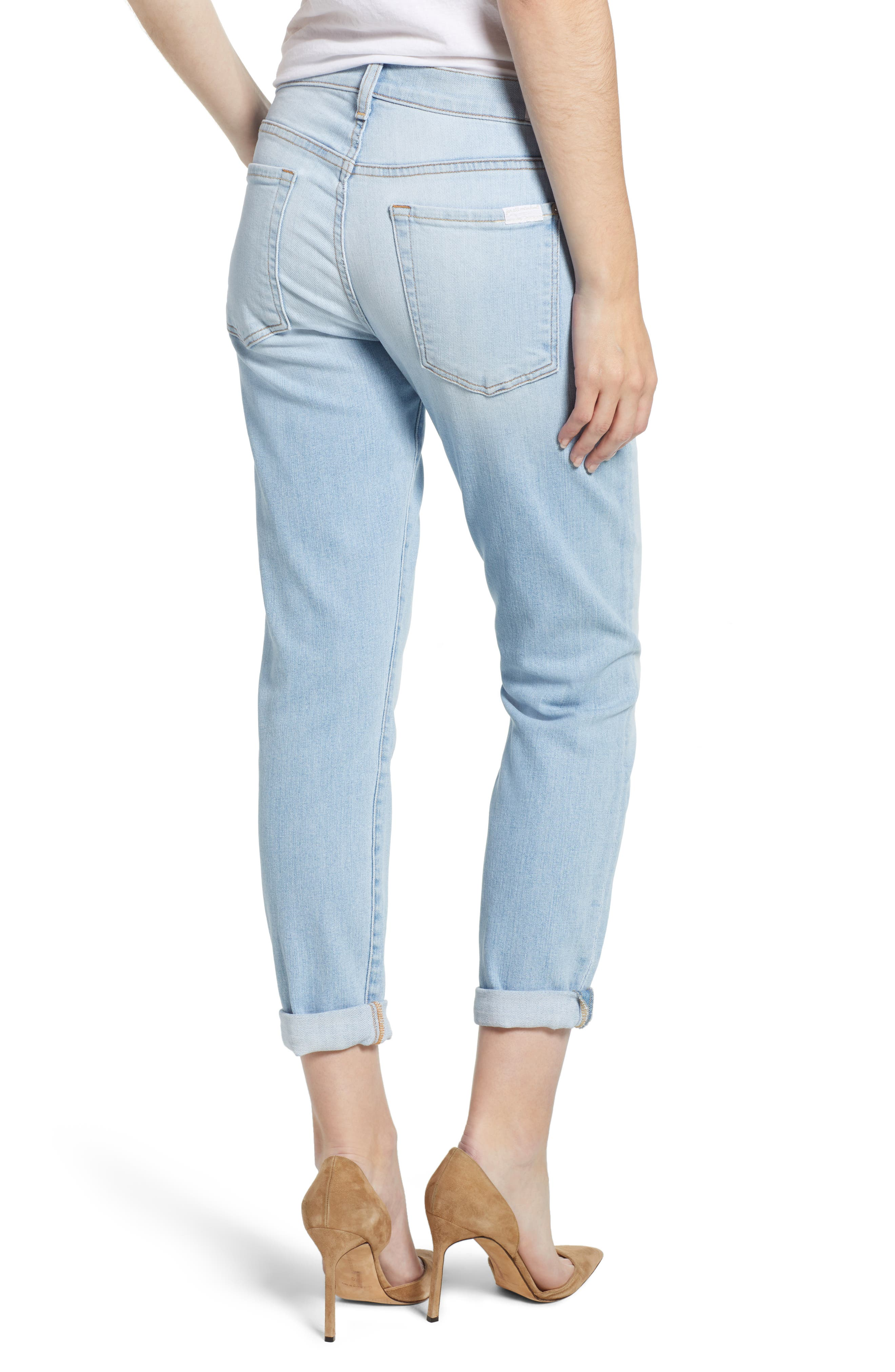 7 FOR ALL MANKIND<SUP>®</SUP>, 'Josefina' Boyfriend Jeans, Alternate thumbnail 2, color, 408
