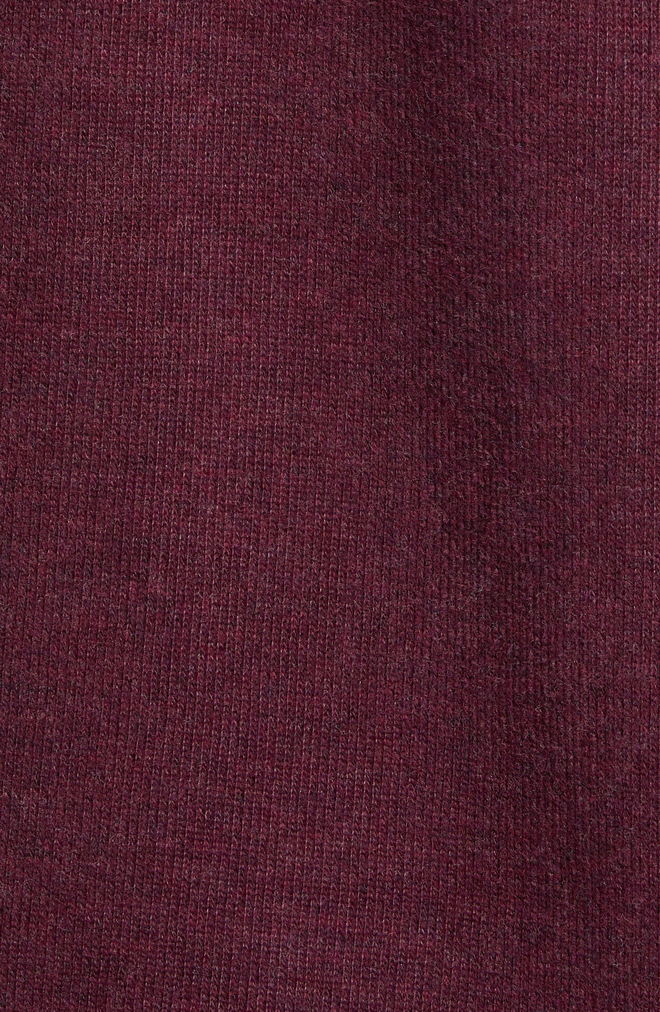 RODD & GUNN, Alton Ave Regular Fit Pullover Sweatshirt, Alternate thumbnail 5, color, BURGUNDY