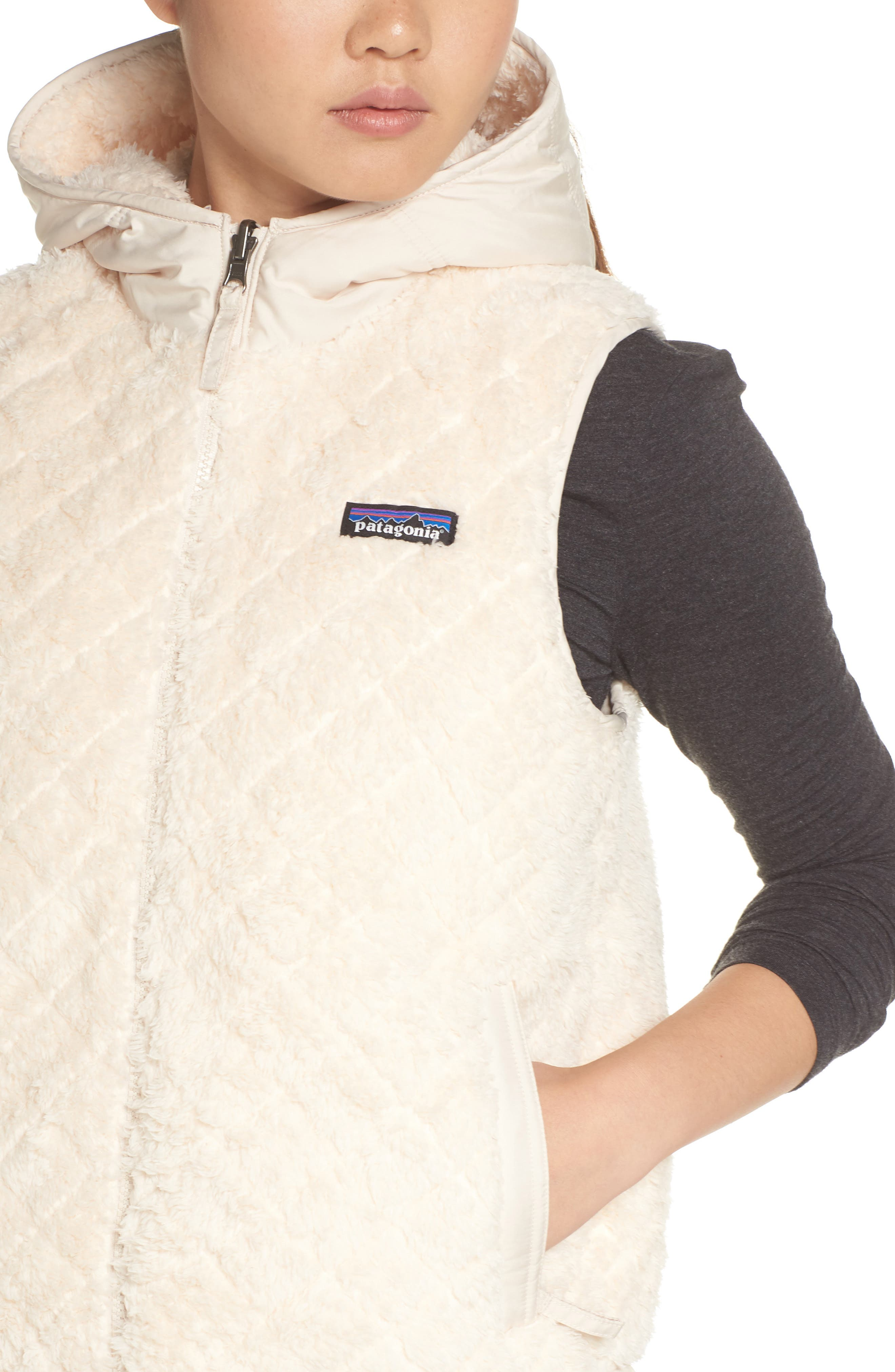 PATAGONIA, Los Gatos Reversible Vest, Alternate thumbnail 5, color, 251
