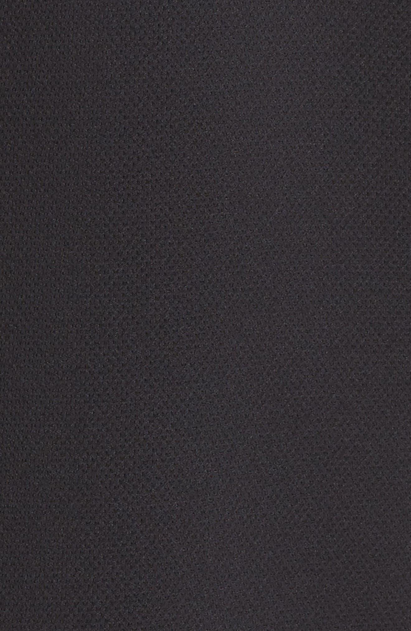 ZELLA, Arise Luxe Bomber Jacket, Alternate thumbnail 7, color, BLACK