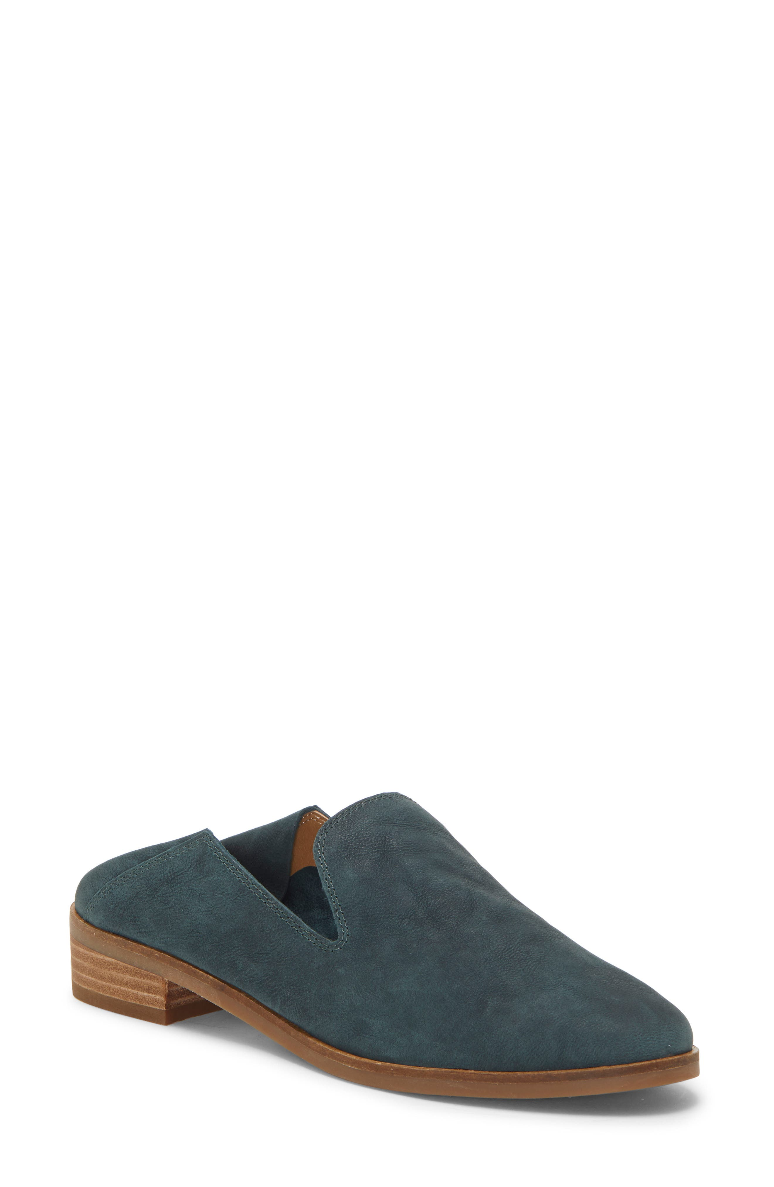 LUCKY BRAND, Cahill Flat, Alternate thumbnail 9, color, KELP LEATHER