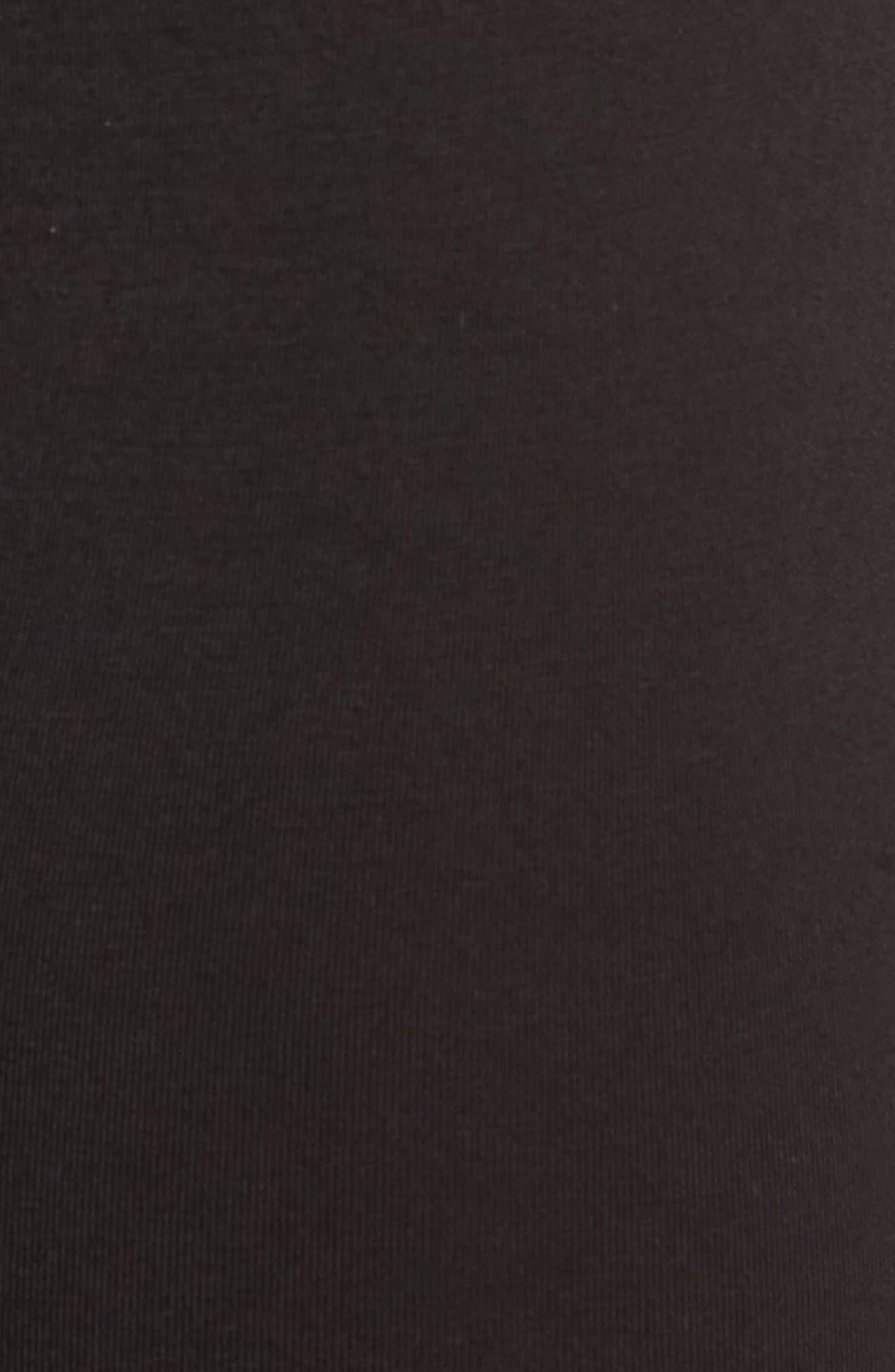 SAXX, 'Ultra' Stretch Boxer Briefs, Alternate thumbnail 5, color, BLACK/ BLACK