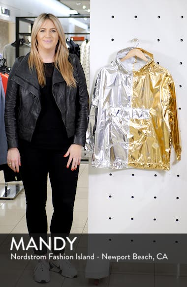Sportswear Women's Metallic Jacket, sales video thumbnail