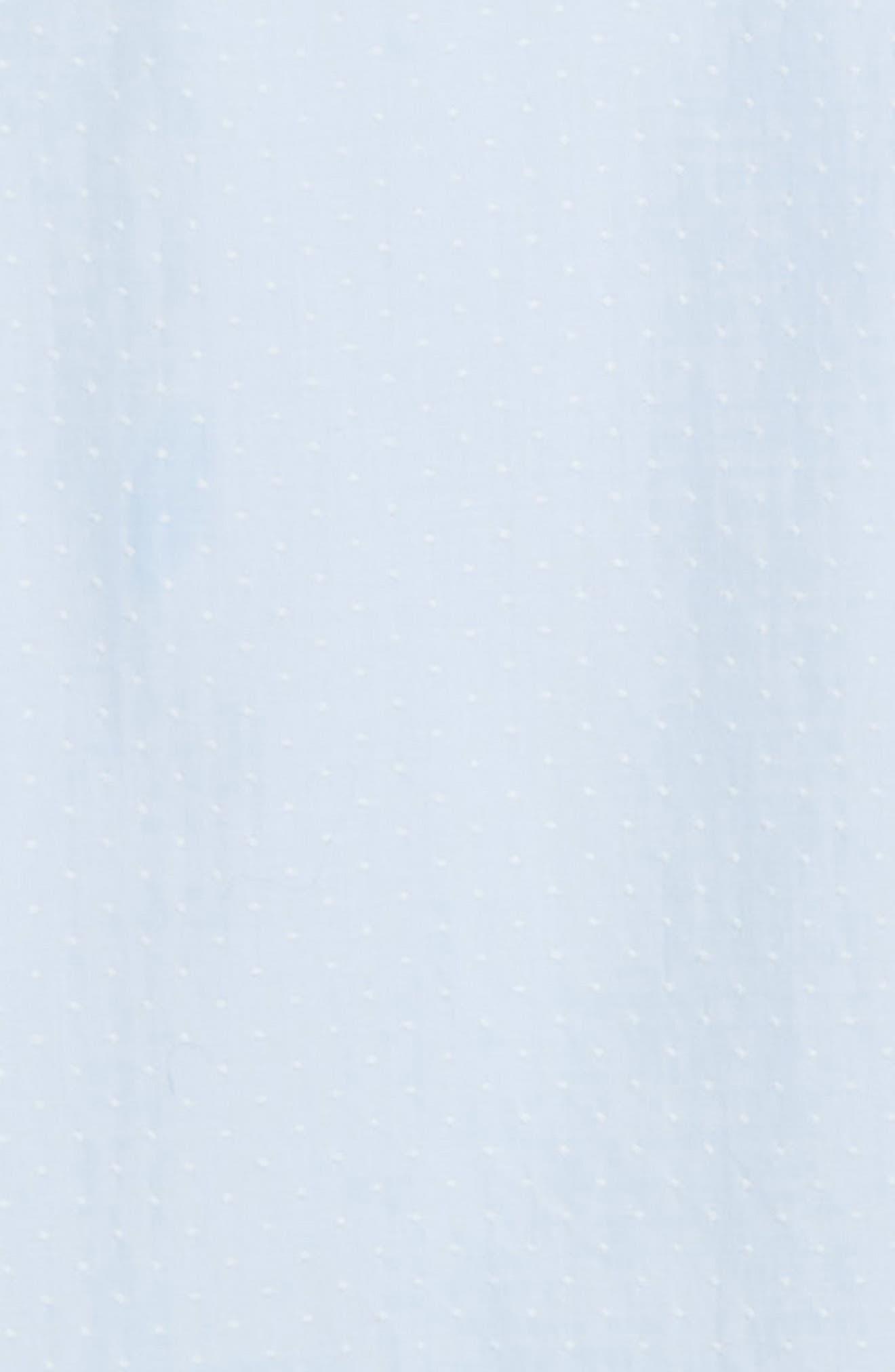 VINEYARD VINES, Wavine Slim Fit Dobby Sport Shirt, Alternate thumbnail 6, color, JAKE BLUE