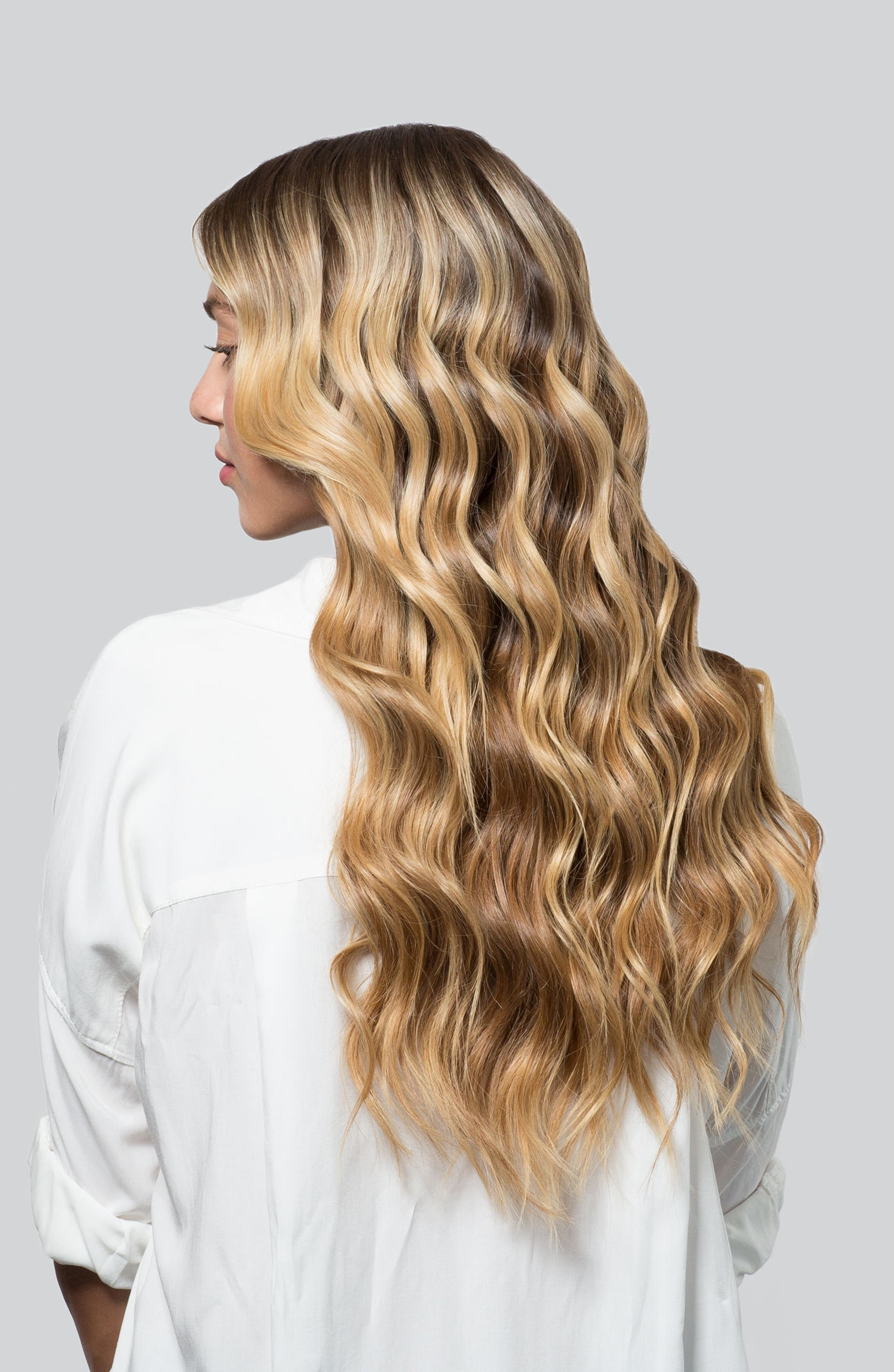 T3, Cascading Waves Reversed Tapered Interchangeable Styling Wand, Alternate thumbnail 7, color, NO COLOR