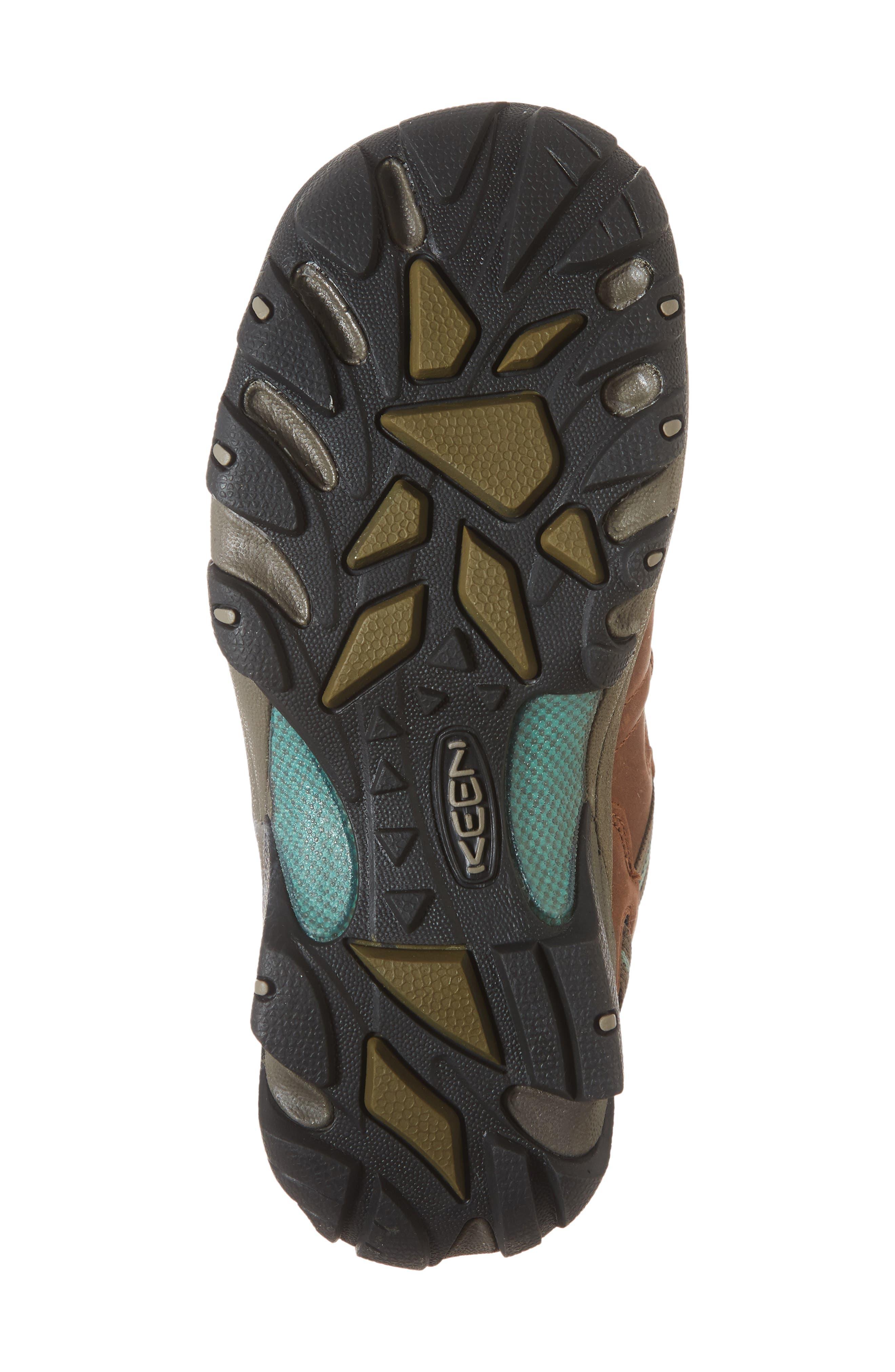KEEN, 'Targhee II' Walking Shoe, Alternate thumbnail 6, color, DARK EARTH/ WASABI NUBUCK