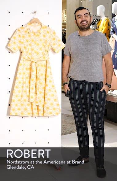 Anastasia Tie Front Shirtdress, sales video thumbnail