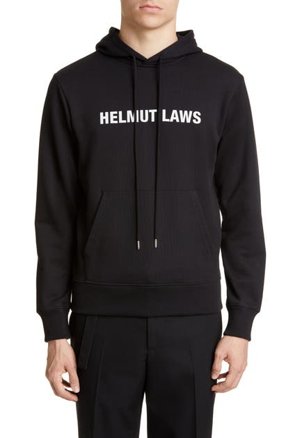 Helmut Lang T-shirts HELMUT LAWS HOODED SWEATSHIRT