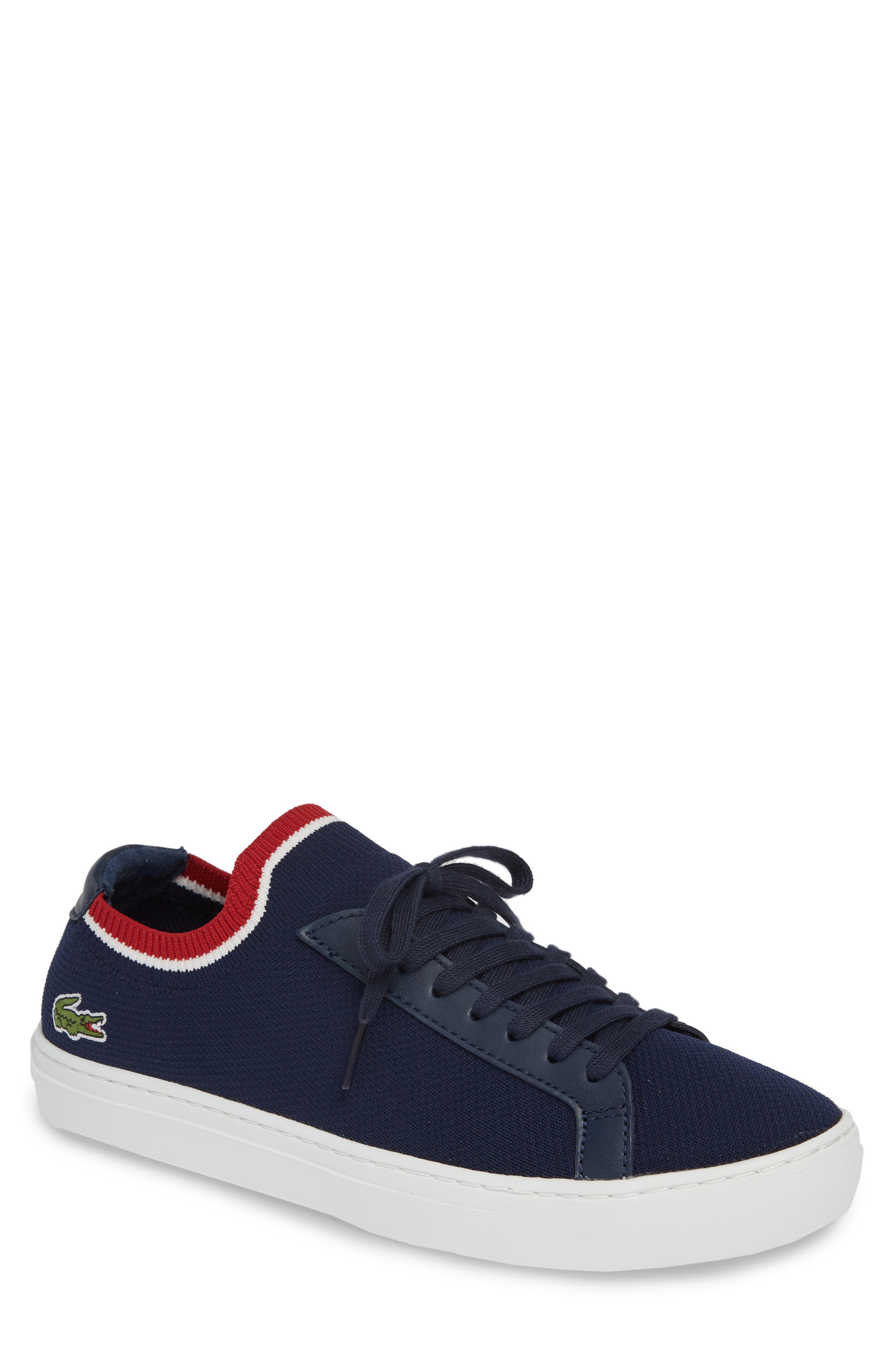 Lacoste Pique Knit Sneaker, Blue