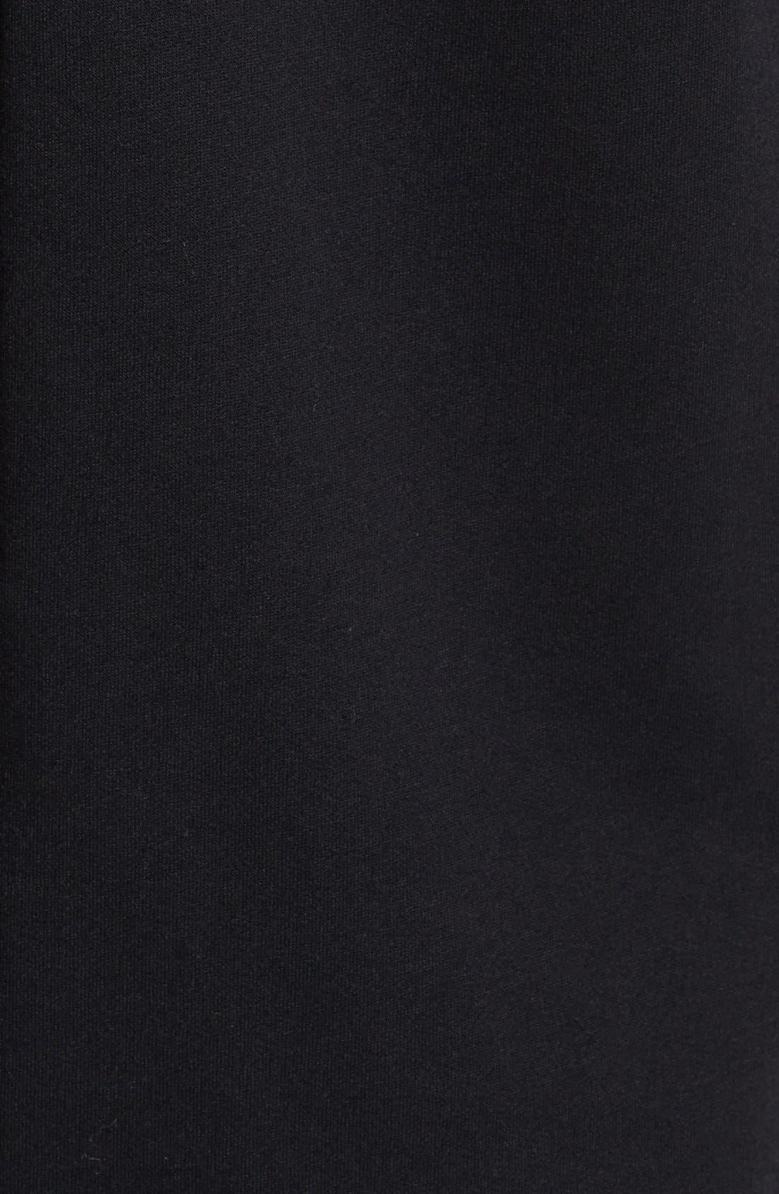 TOPMAN, Glow In The Dark Skeleton Print Bodysuit, Alternate thumbnail 2, color, 001
