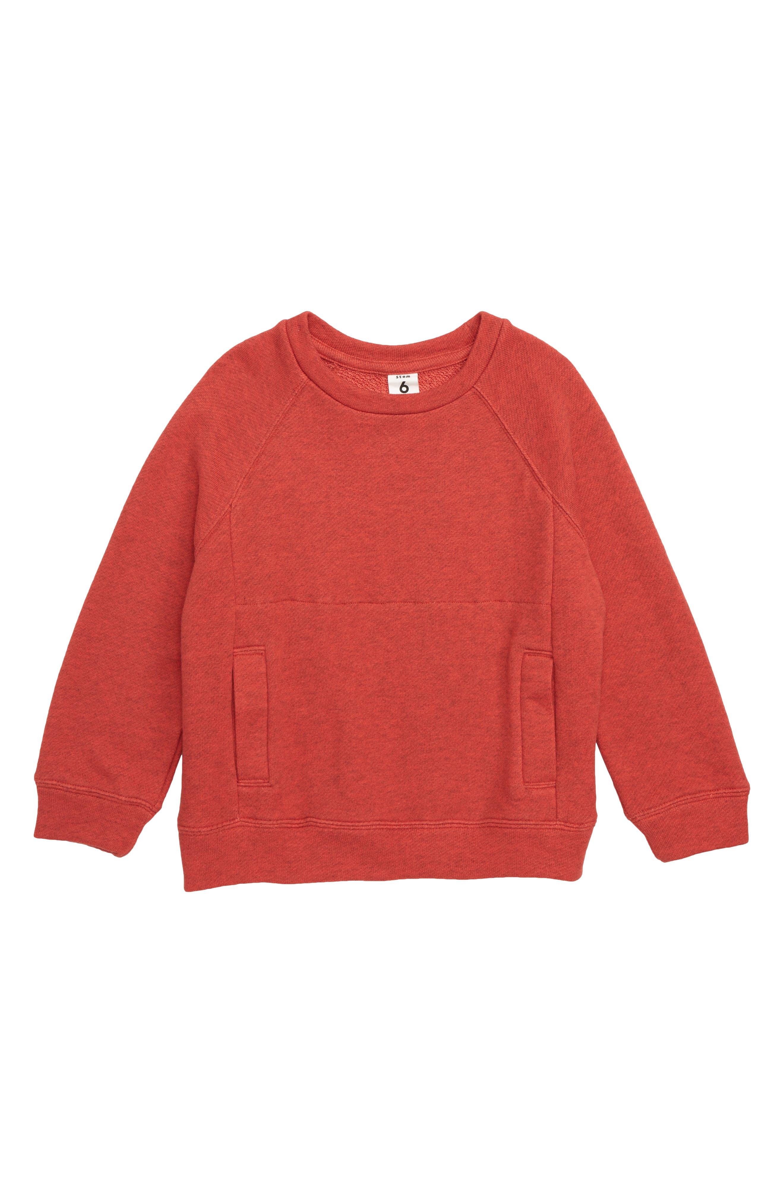 STEM, Textured Sweatshirt, Main thumbnail 1, color, 610