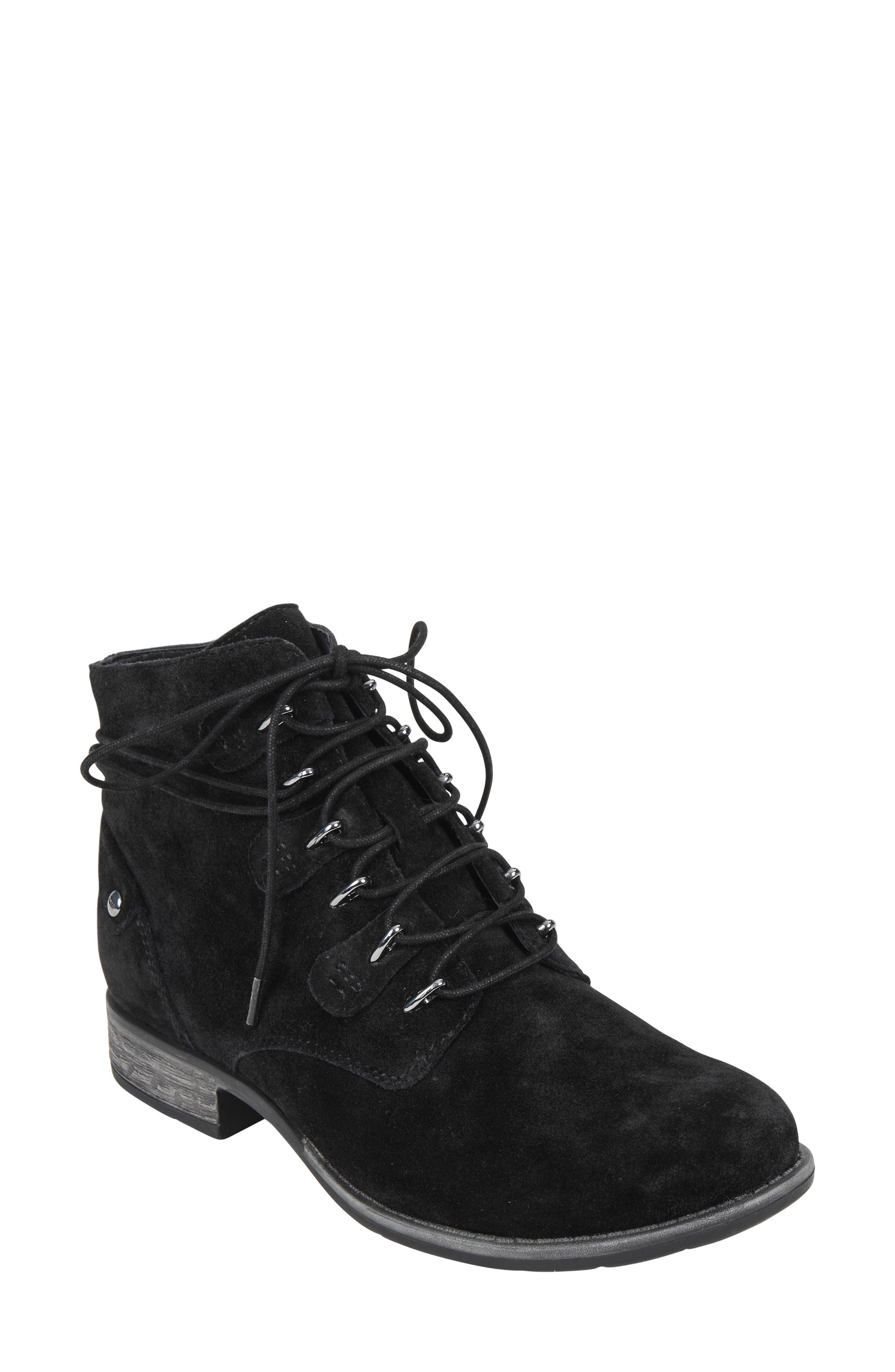 Earth Borne Boot- Black