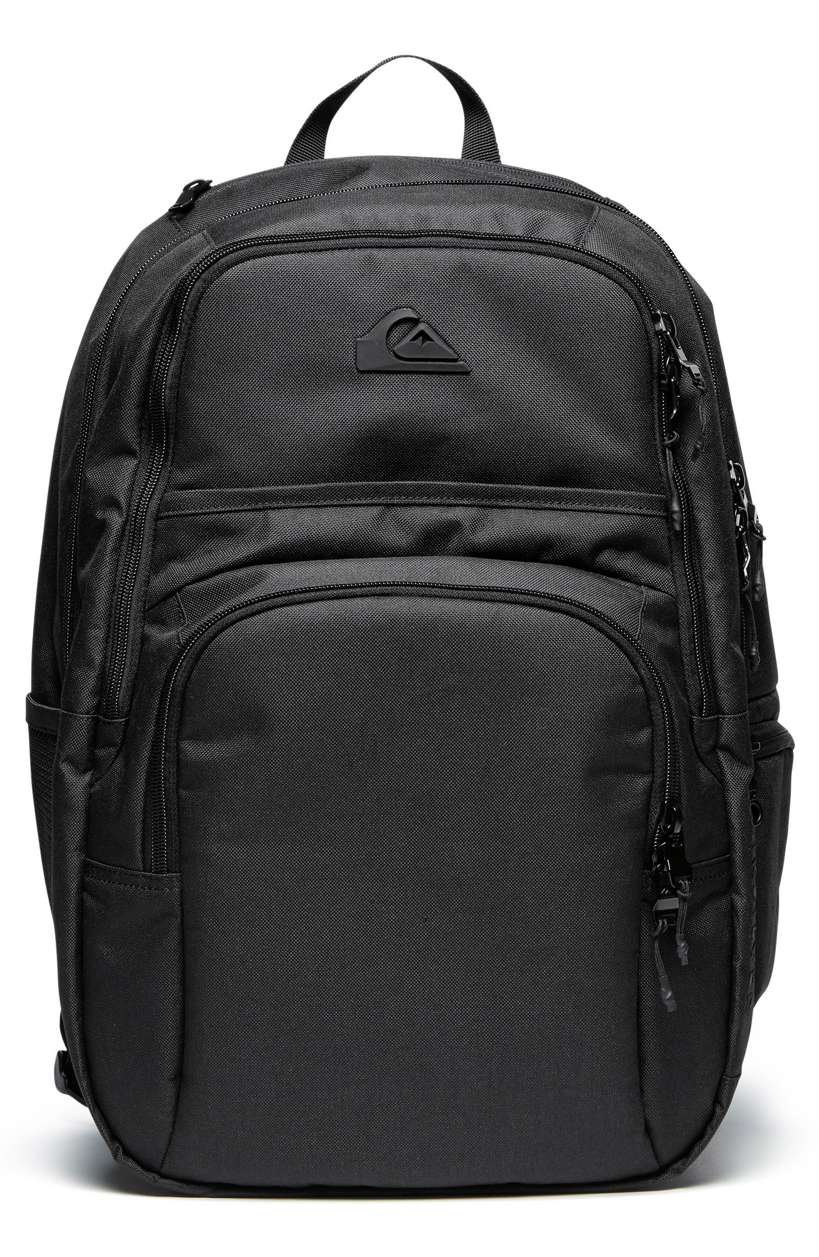 QUIKSILVER, Diaper Backpack, Main thumbnail 1, color, BLACK