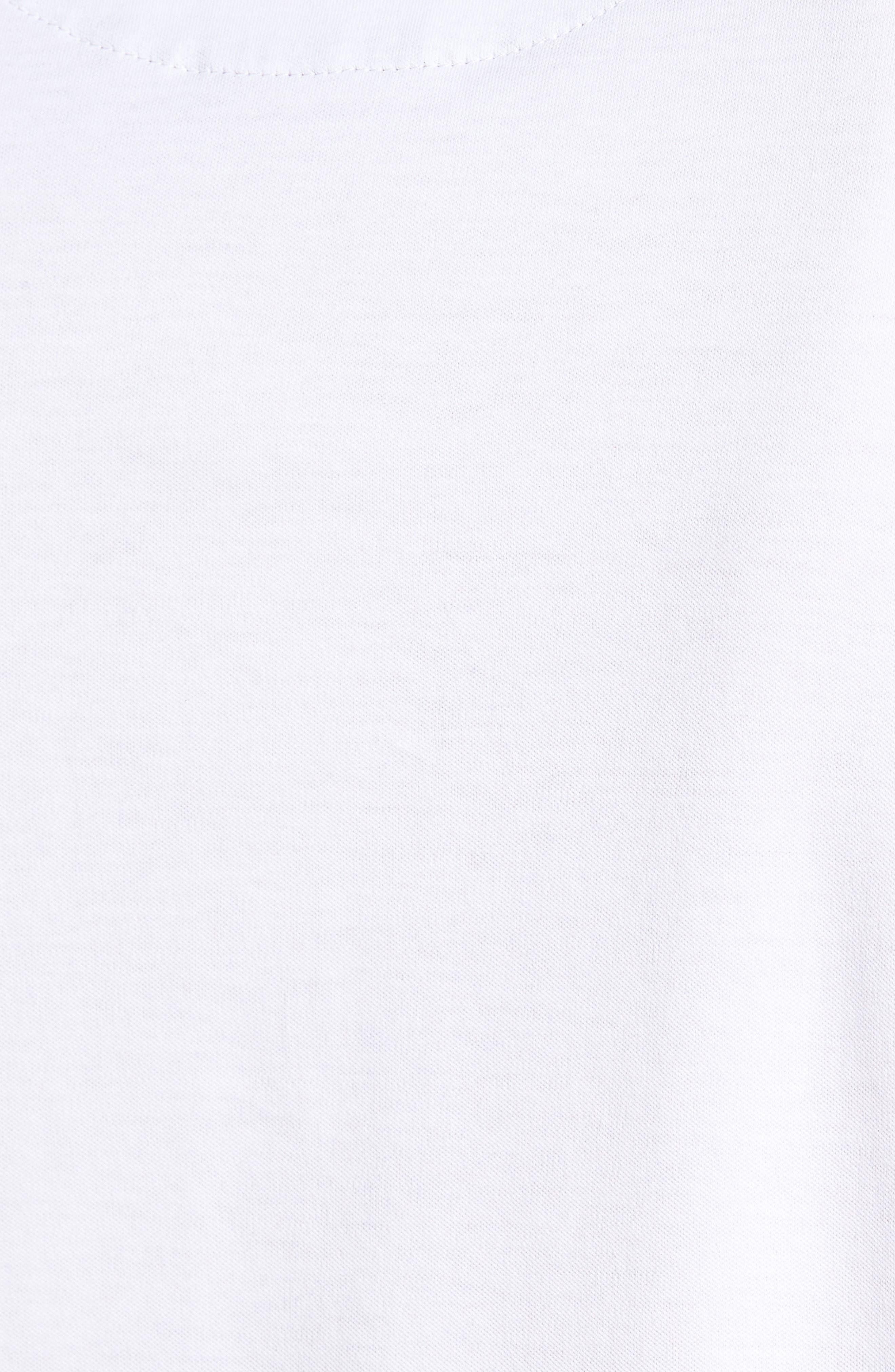 TED BAKER LONDON, Derry Modern Slim Fit Polo, Alternate thumbnail 5, color, WHITE