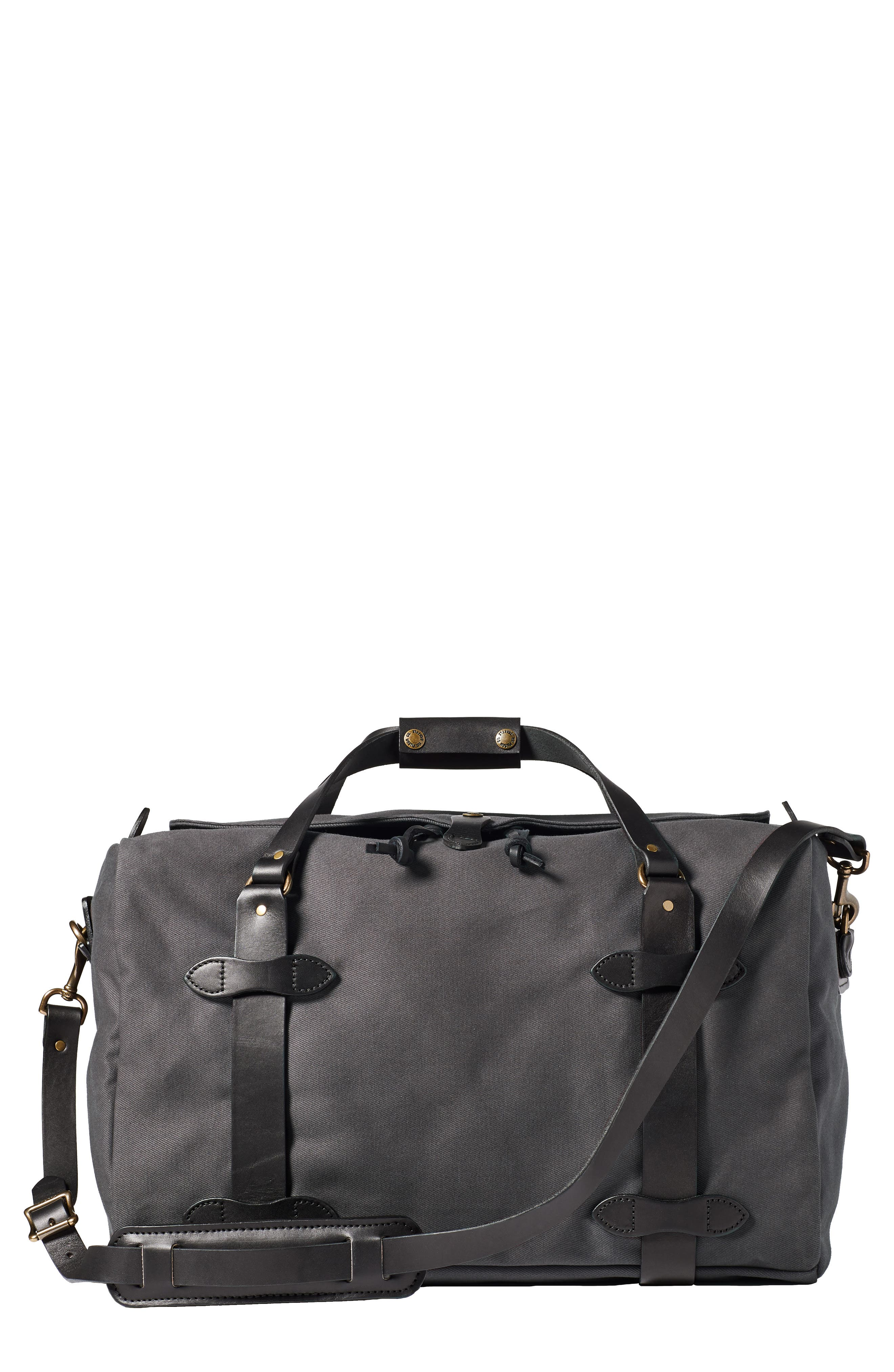 FILSON Medium Duffle Bag, Main, color, CINDER