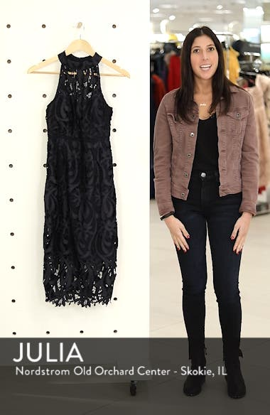 Isa Lace Halter Dress, sales video thumbnail