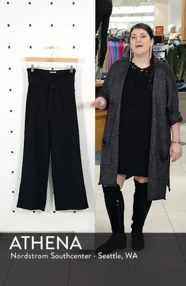 High Waist Belted Pants, sales video thumbnail