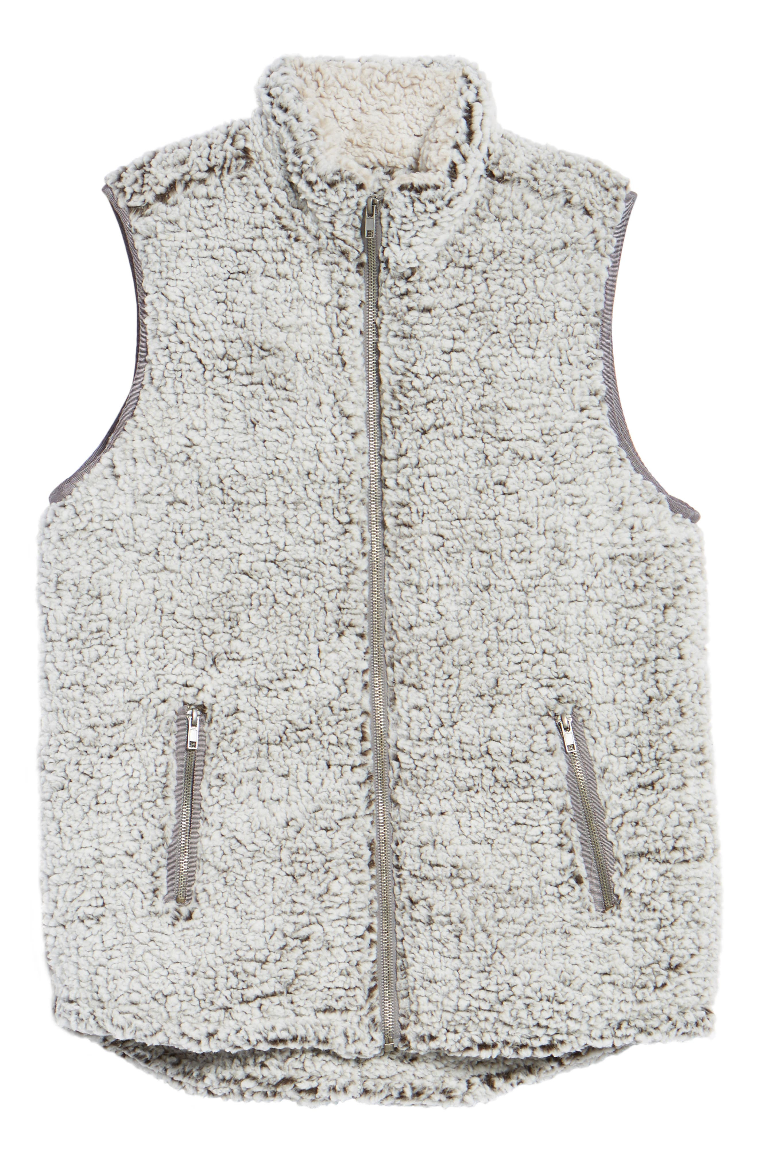 THREAD & SUPPLY, Arctic Fleece Vest, Alternate thumbnail 5, color, 021