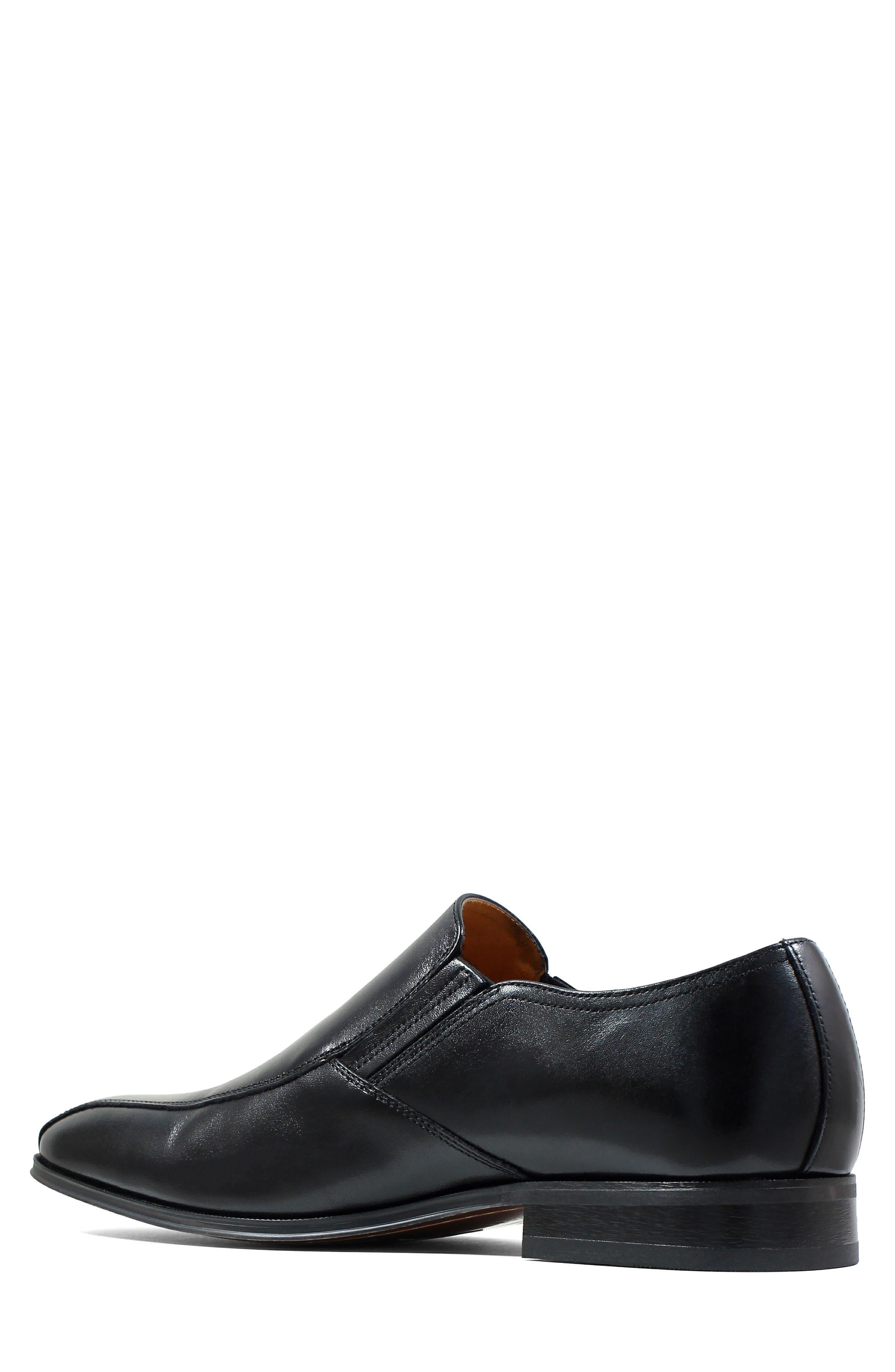 FLORSHEIM, Corbetta Venetian Loafer, Alternate thumbnail 2, color, BLACK
