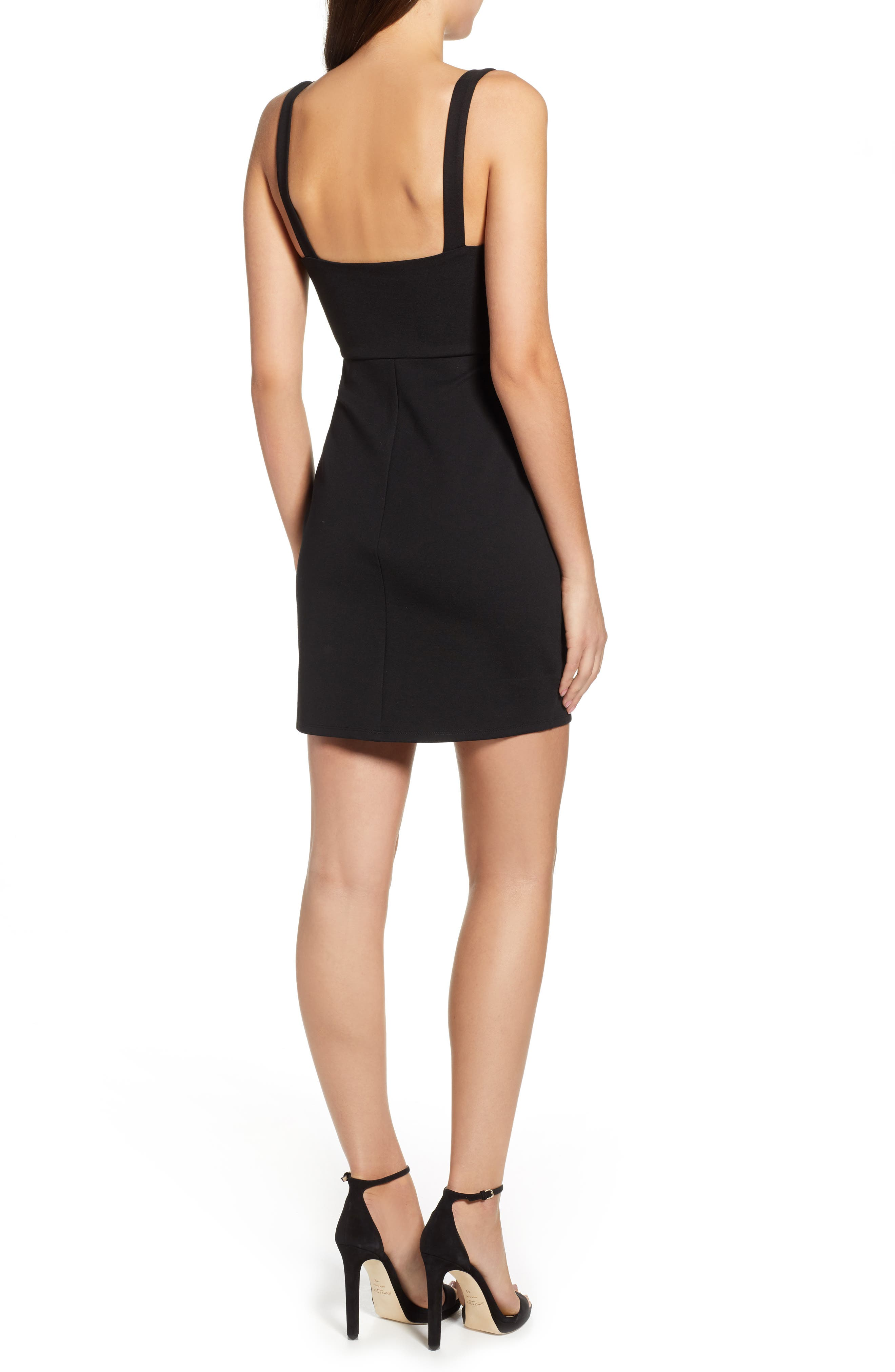 ASTR THE LABEL, Beaded Body-Con Dress, Alternate thumbnail 2, color, 001