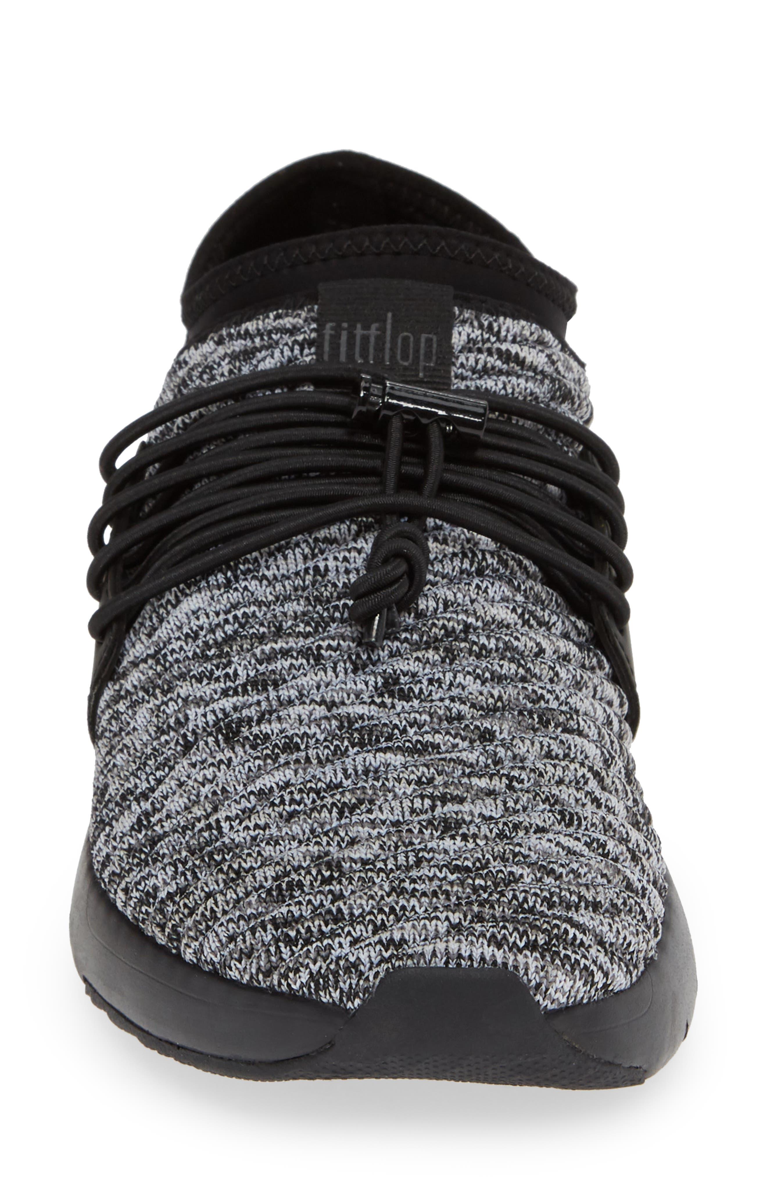 FITFLOP, Artknit Sock Sneaker, Alternate thumbnail 4, color, 017