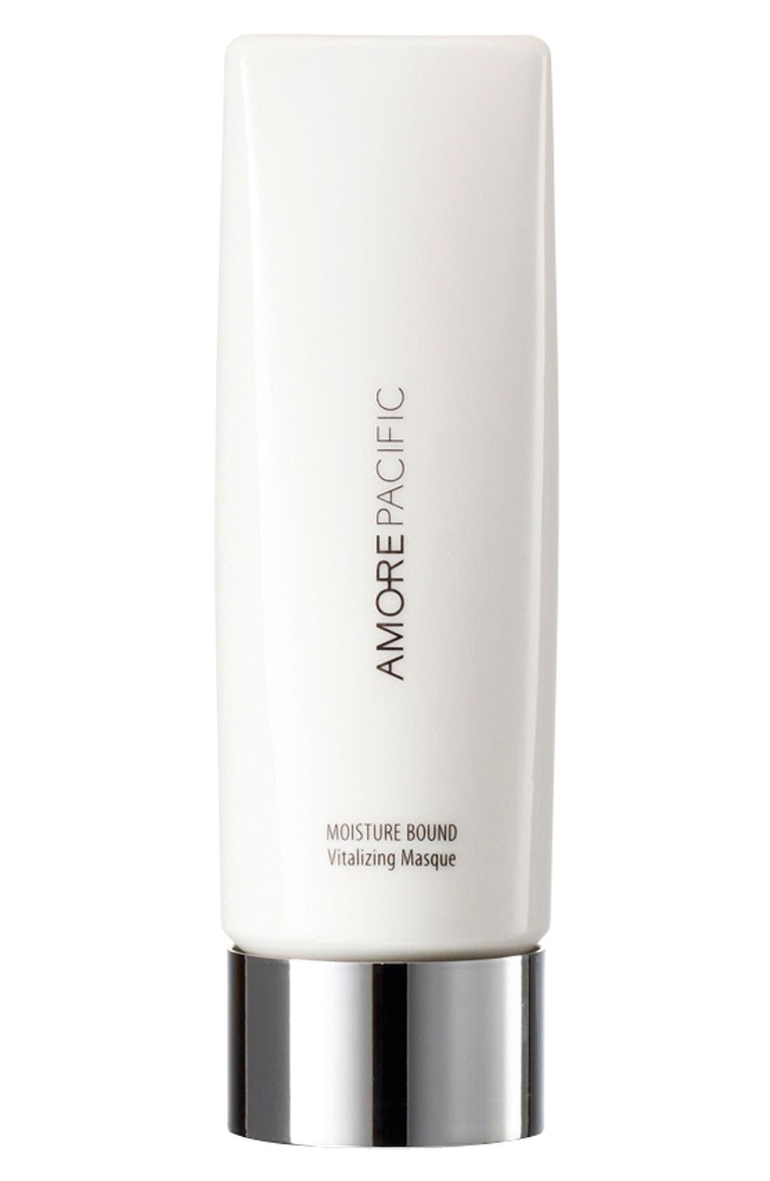 AMOREPACIFIC, 'Moisture Bound' Vitalizing Face Masque, Main thumbnail 1, color, 000
