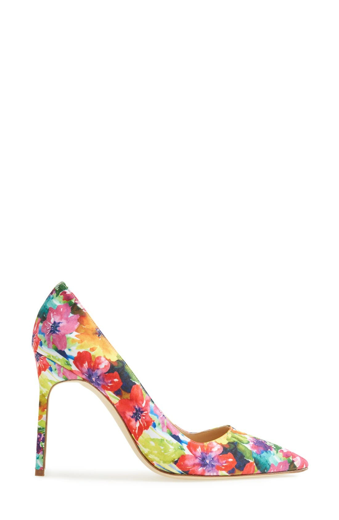 MANOLO BLAHNIK, 'BB' Pump, Alternate thumbnail 4, color, 650