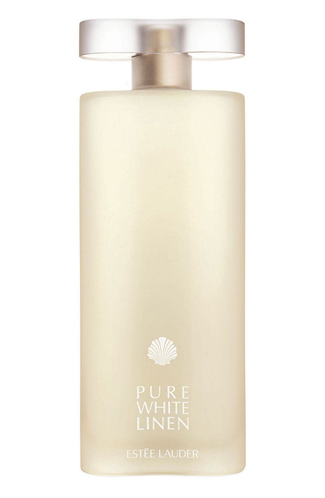 ESTÉE LAUDER Pure White Linen Eau de Parfum Spray, Main, color, NO COLOR
