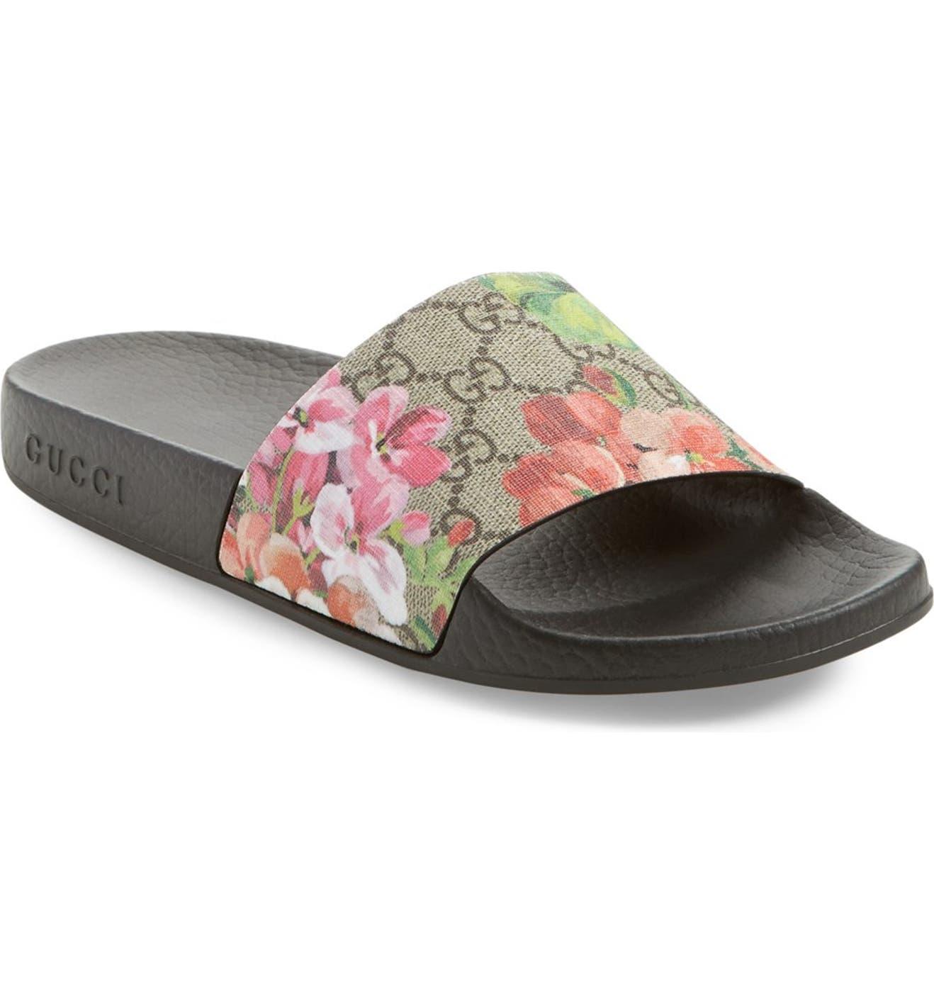 7660c7af1bc1 Gucci Pursuit Slide Sandal (Women)