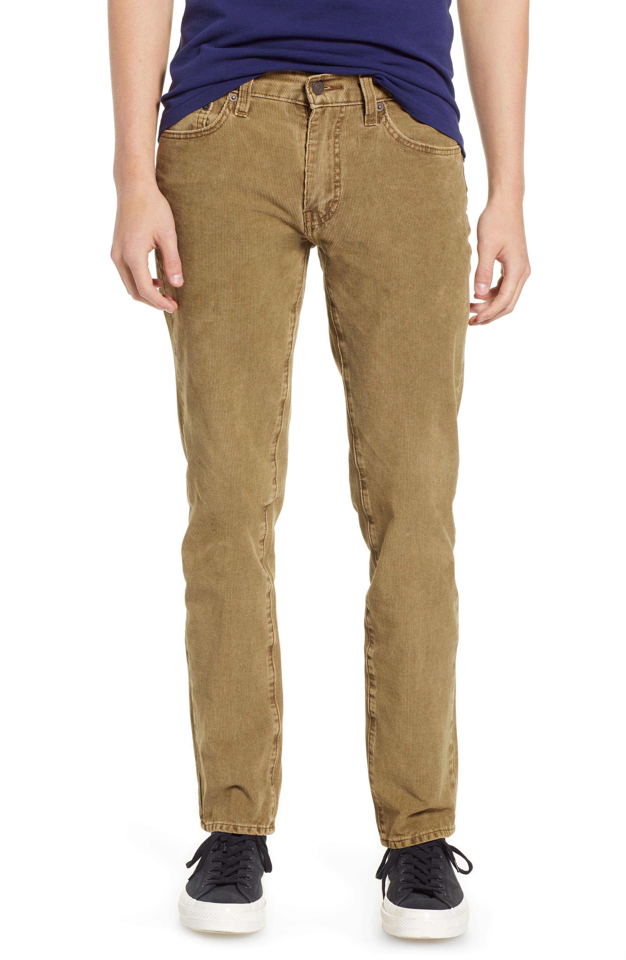 LEVI'S<SUP>®</SUP> 511<sup>™</sup> Slim Fit Corduroy Pants, Main, color, 240