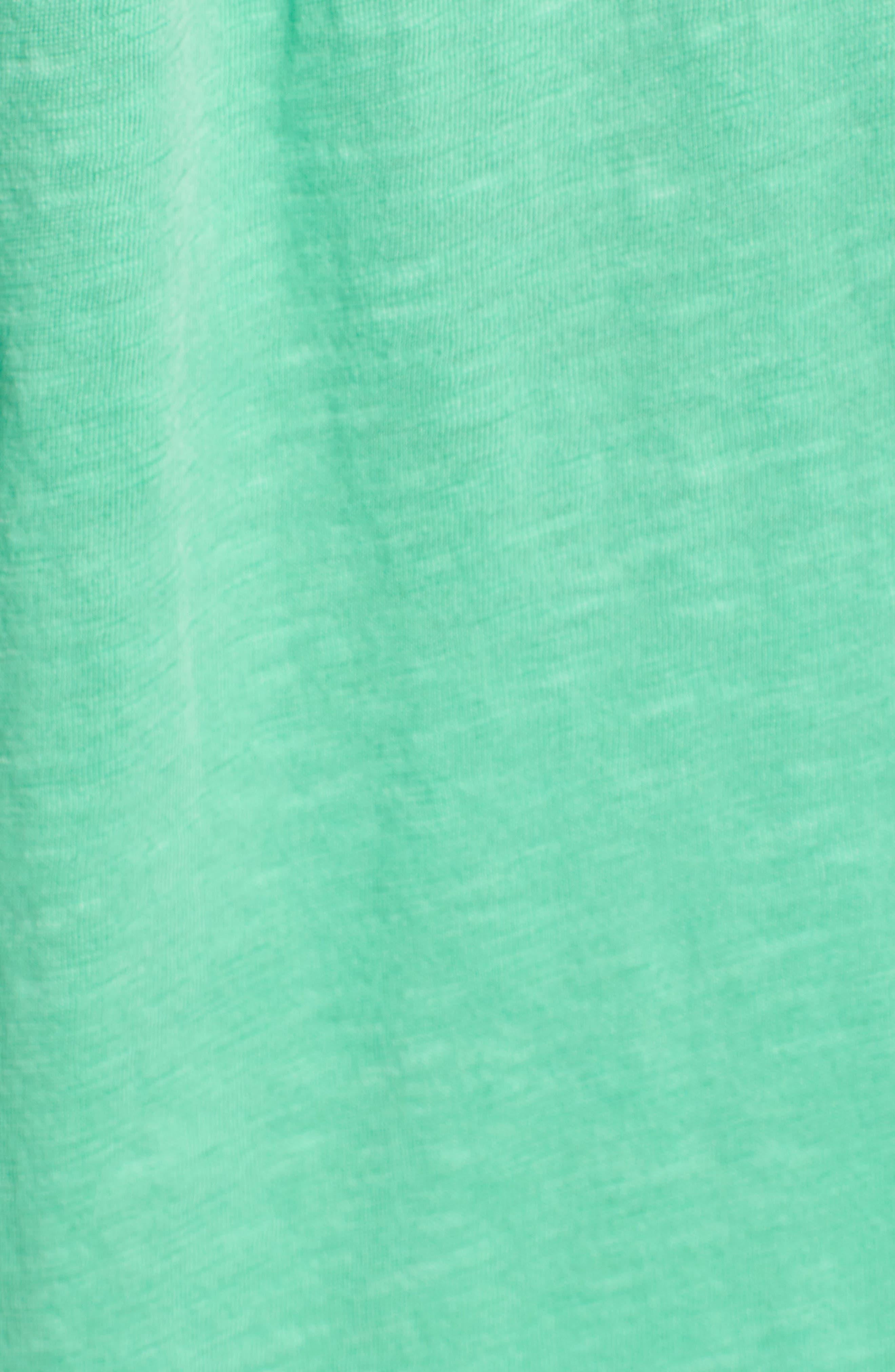 CASLON<SUP>®</SUP>, Button Down Knit Tunic, Alternate thumbnail 5, color, GREEN KATYDID