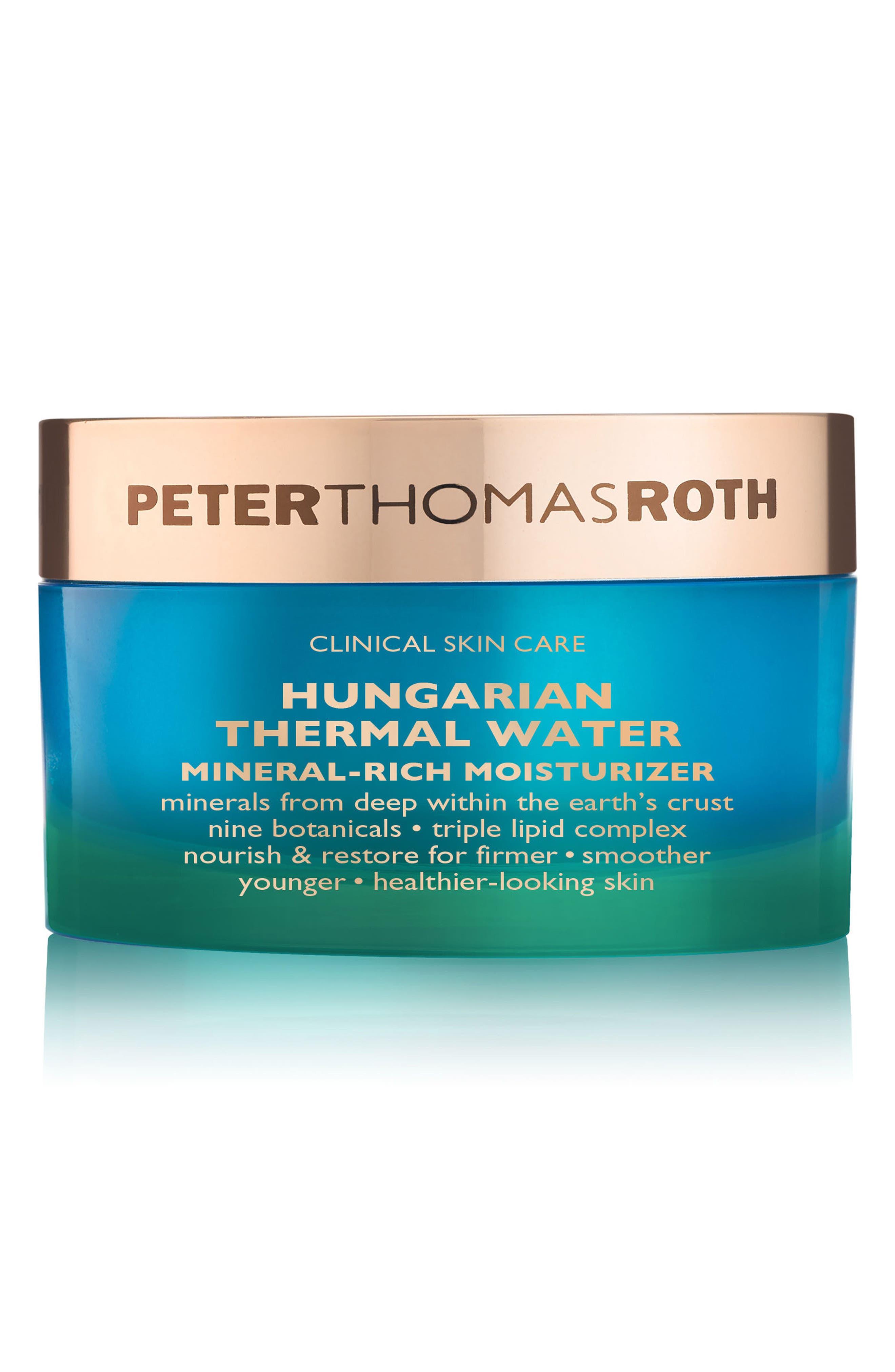 PETER THOMAS ROTH, Hungarian Thermal Water Mineral-Rich Moisturizer, Main thumbnail 1, color, NO COLOR