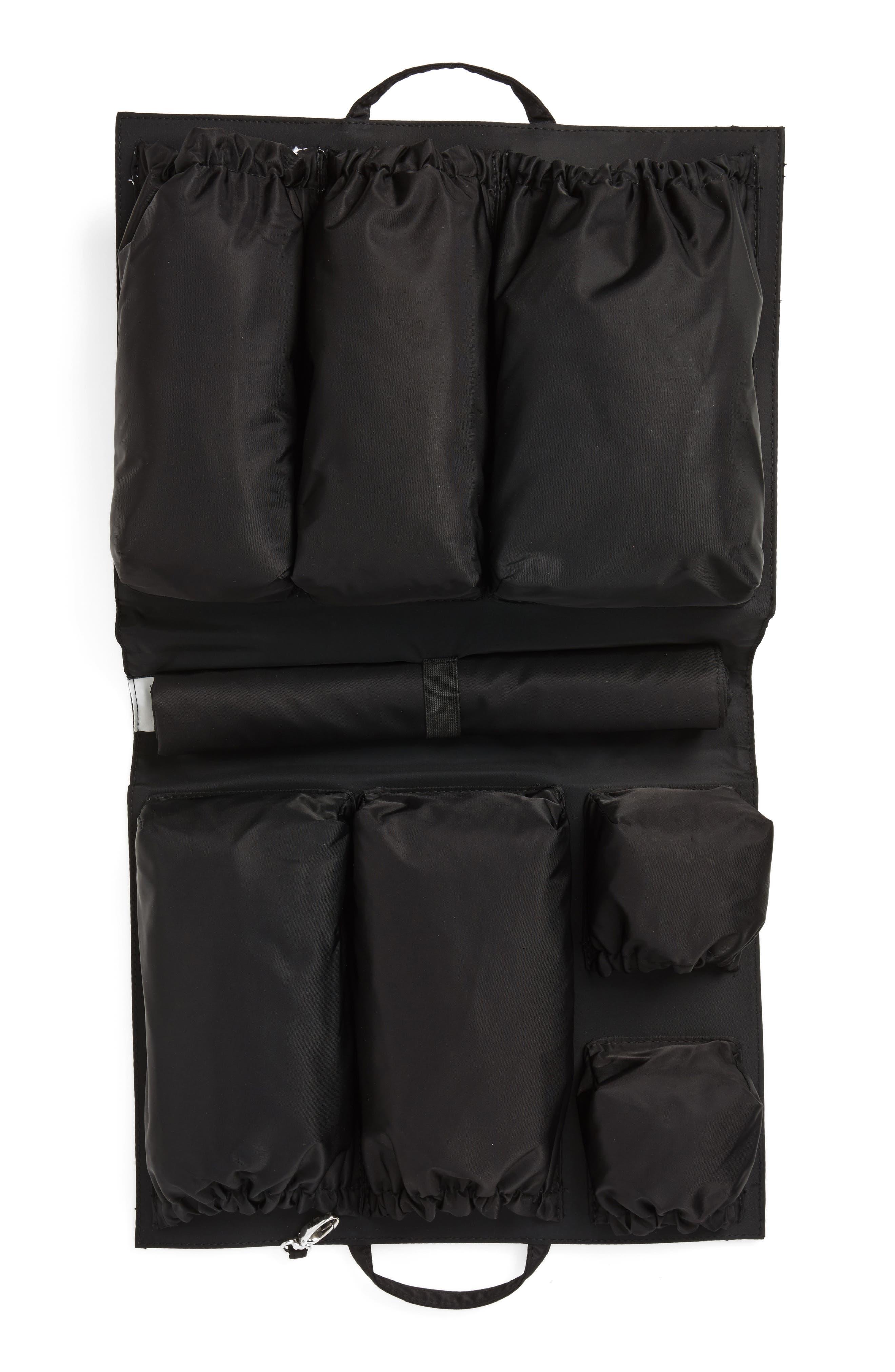 TOTESAVVY, Organization Handbag Insert, Alternate thumbnail 4, color, CLASSIC BLACK