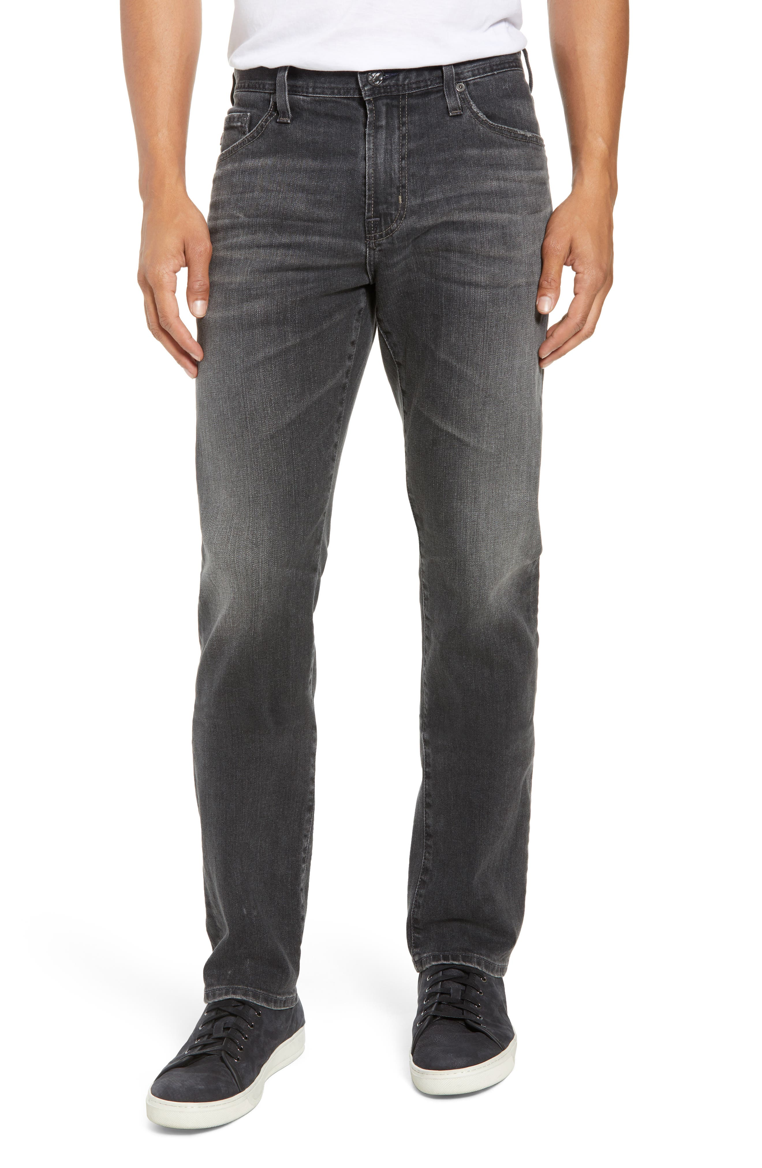AG, Everett Slim Straight Leg Jeans, Main thumbnail 1, color, 6 YEARS ARCADE