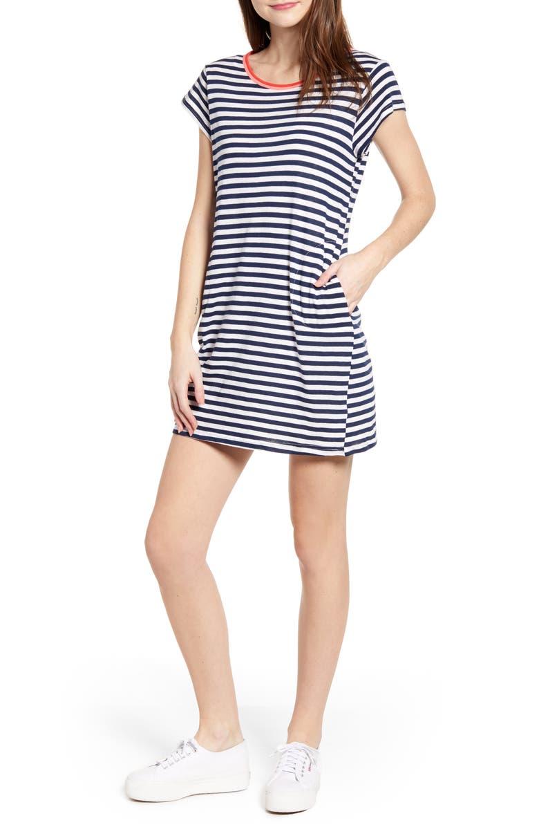 Splendid Dresses SEASIDE STRIPE T-SHIRT DRESS