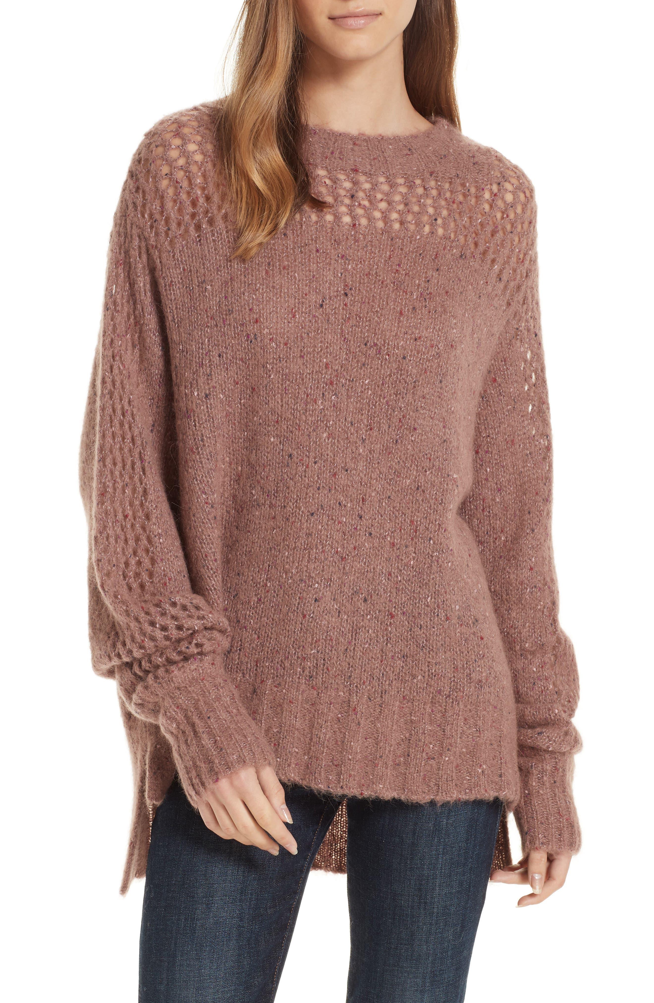 Brochu Walker Josep Alpaca Wool Sweater, Beige
