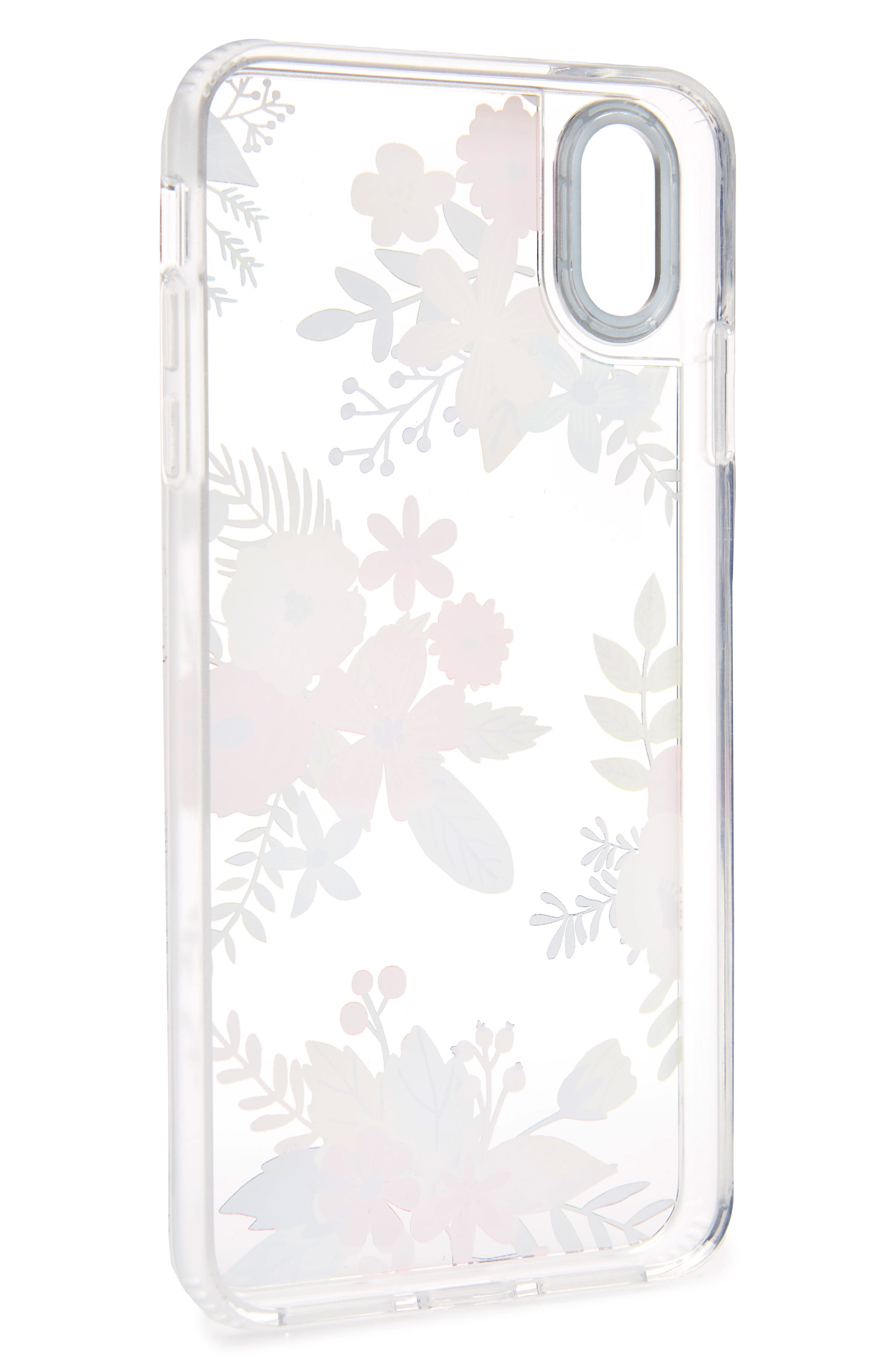 CASETIFY, Floral Collage Translucent iPhone X/Xs, XR & X Max Case, Alternate thumbnail 2, color, MULTI FLORAL