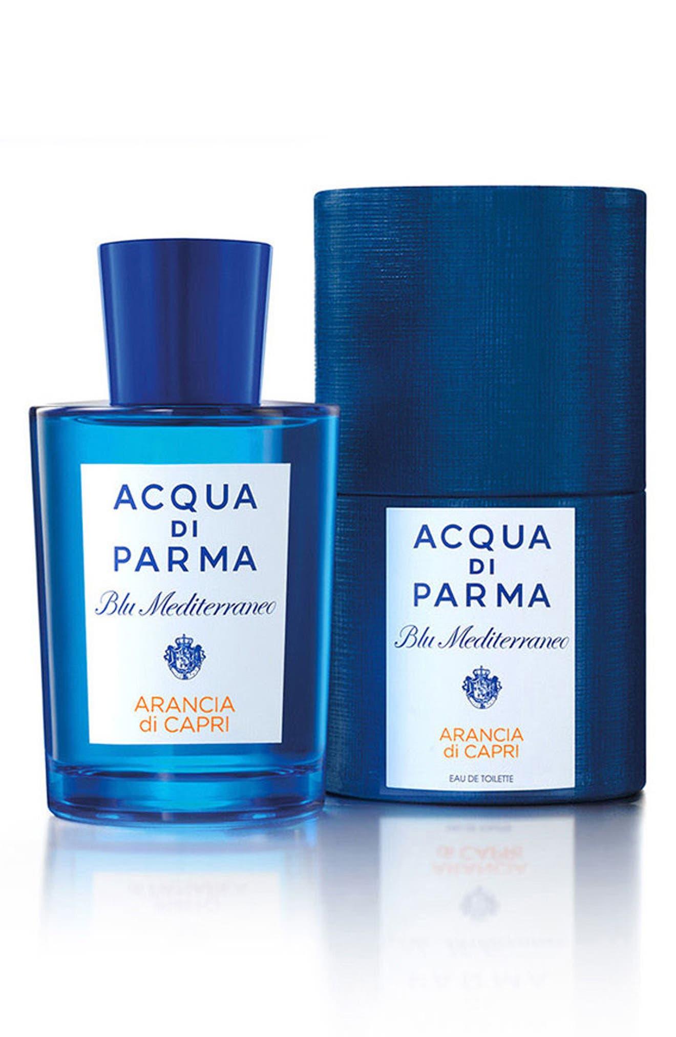 ACQUA DI PARMA, Blu Mediterraneo Arancia di Capri Eau de Toilette, Alternate thumbnail 3, color, NO COLOR