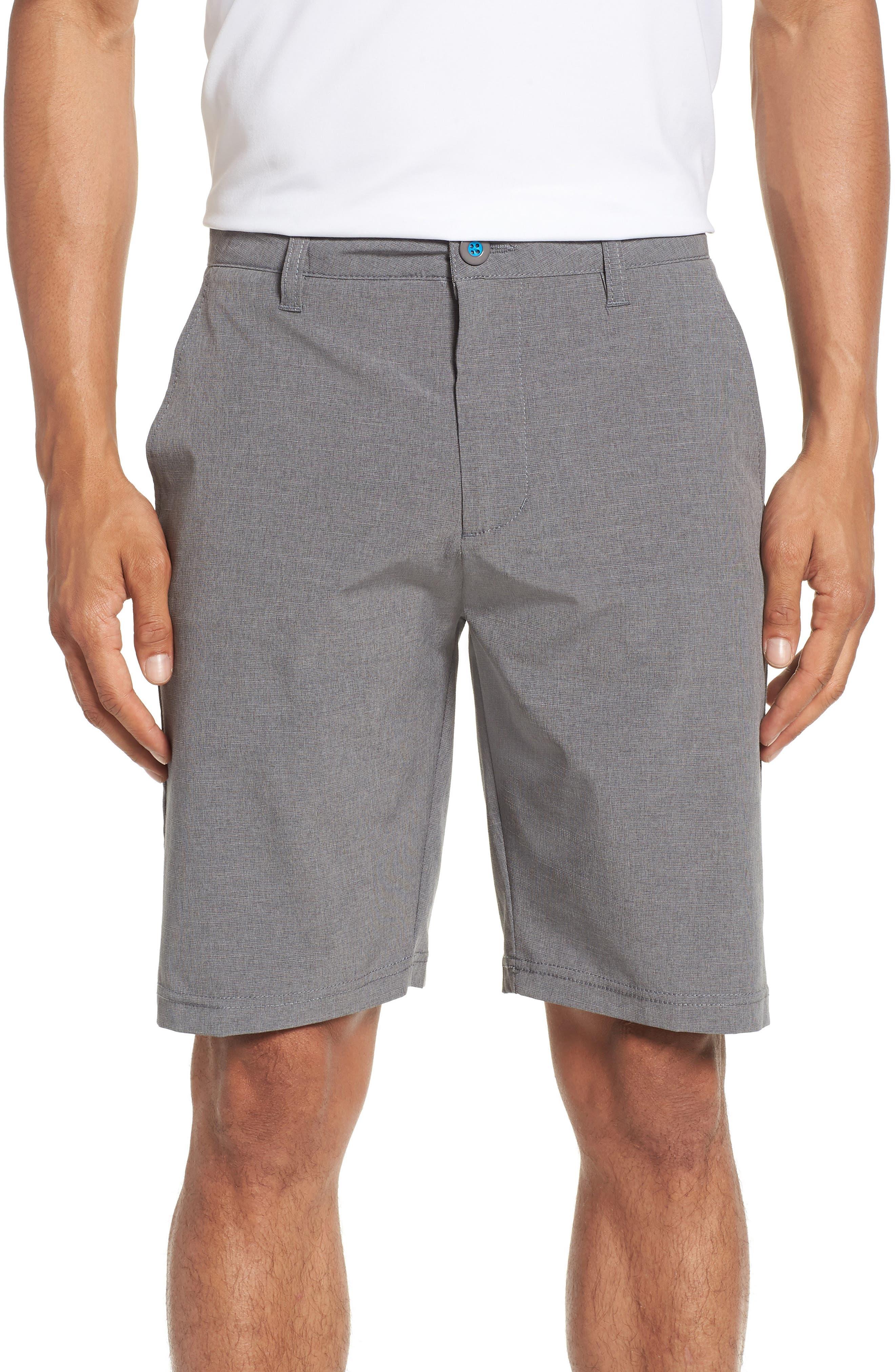 DEVEREUX Cruiser Hybrid Shorts, Main, color, CHARCOAL