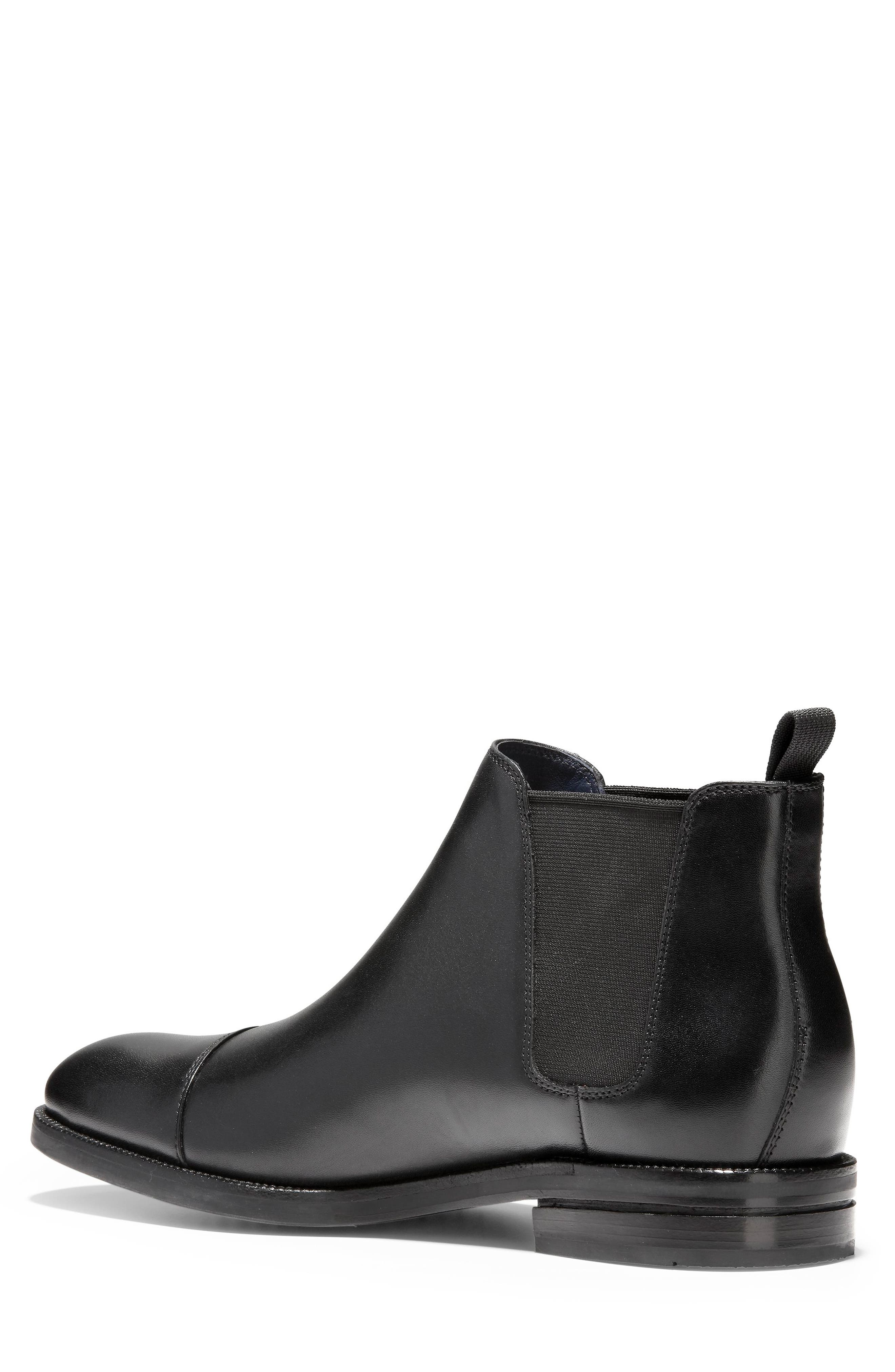 COLE HAAN, Wagner Grand Chelsea Boot, Alternate thumbnail 2, color, 001