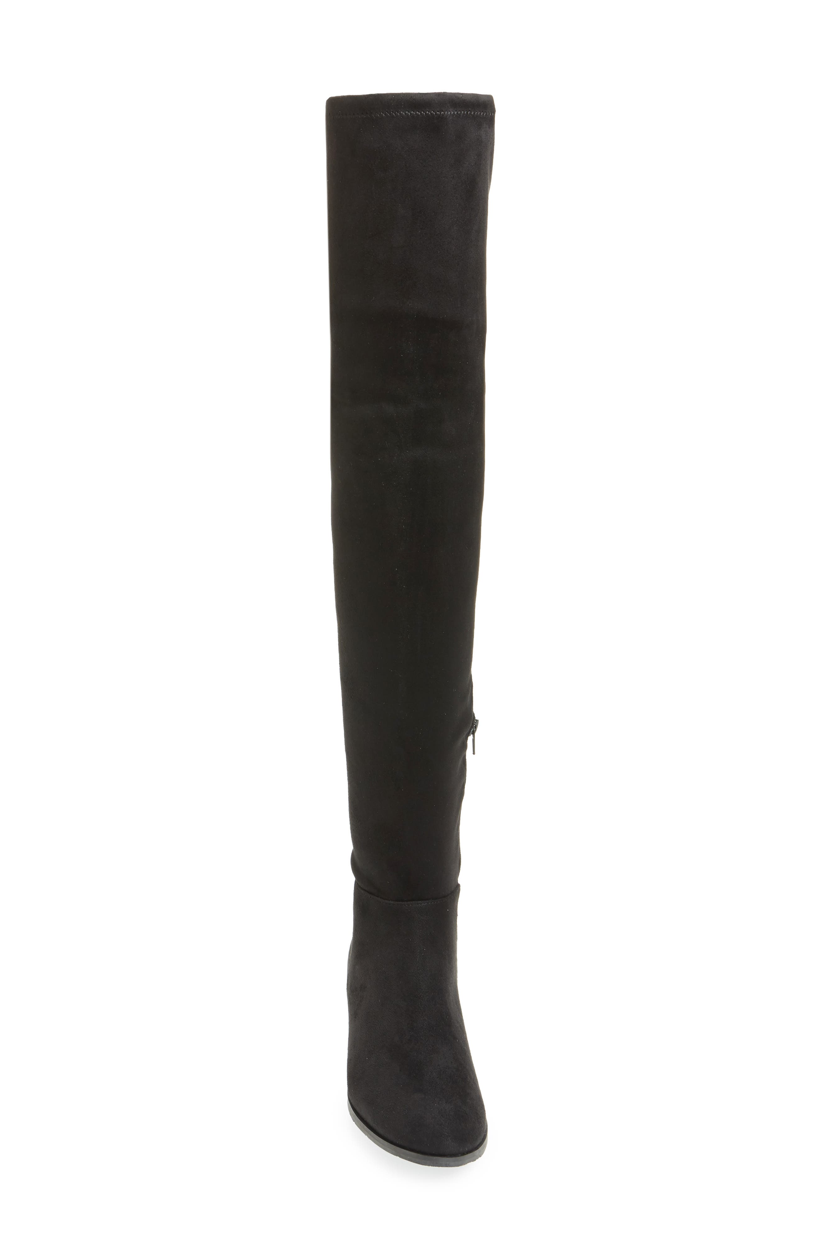 CHINESE LAUNDRY, Richie Knee High Boot, Alternate thumbnail 4, color, 001