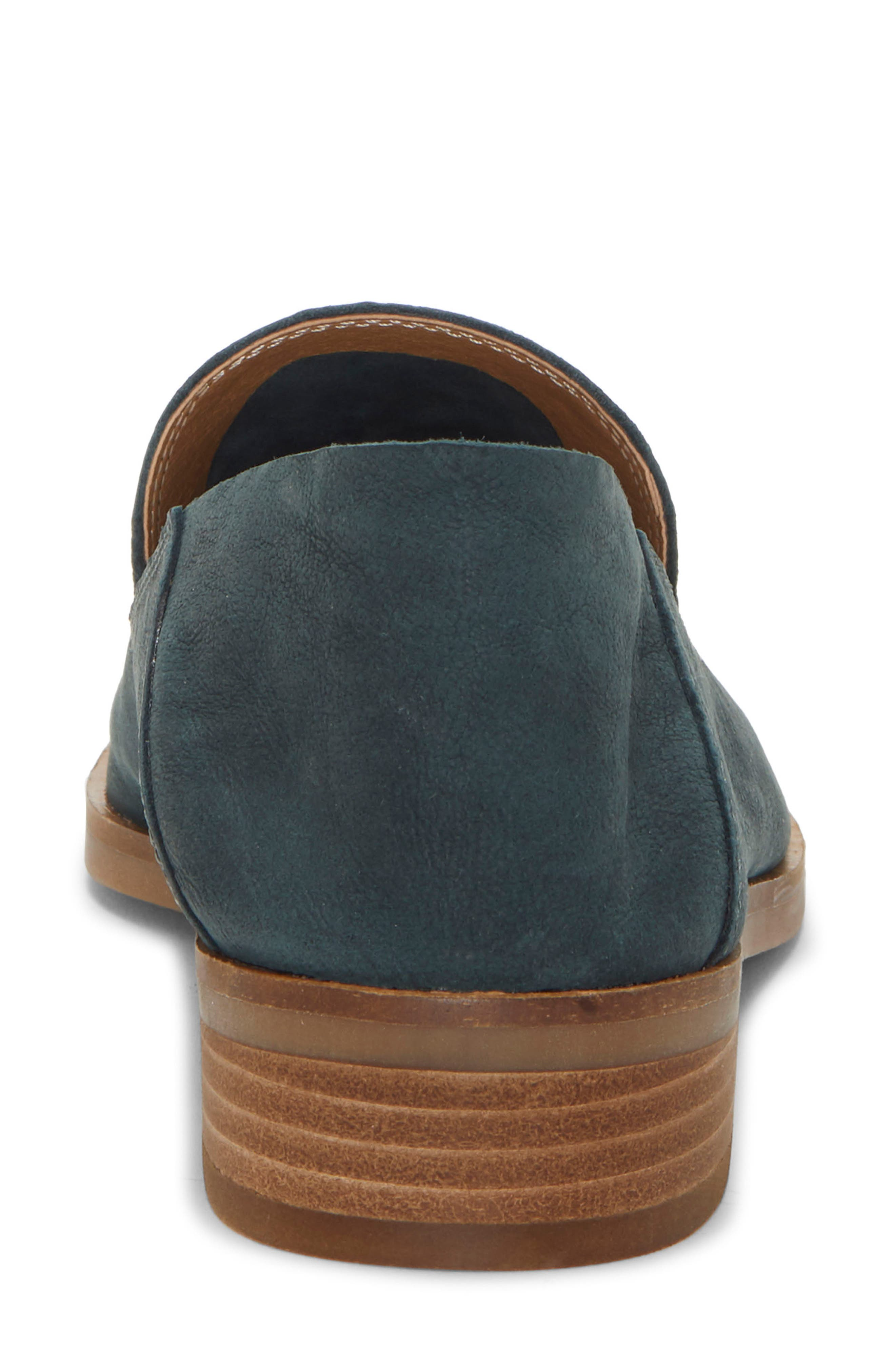 LUCKY BRAND, Cahill Flat, Alternate thumbnail 8, color, KELP LEATHER