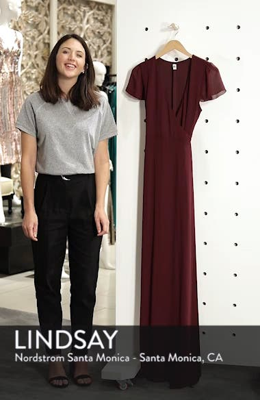 Noelle Wrap Dress, sales video thumbnail