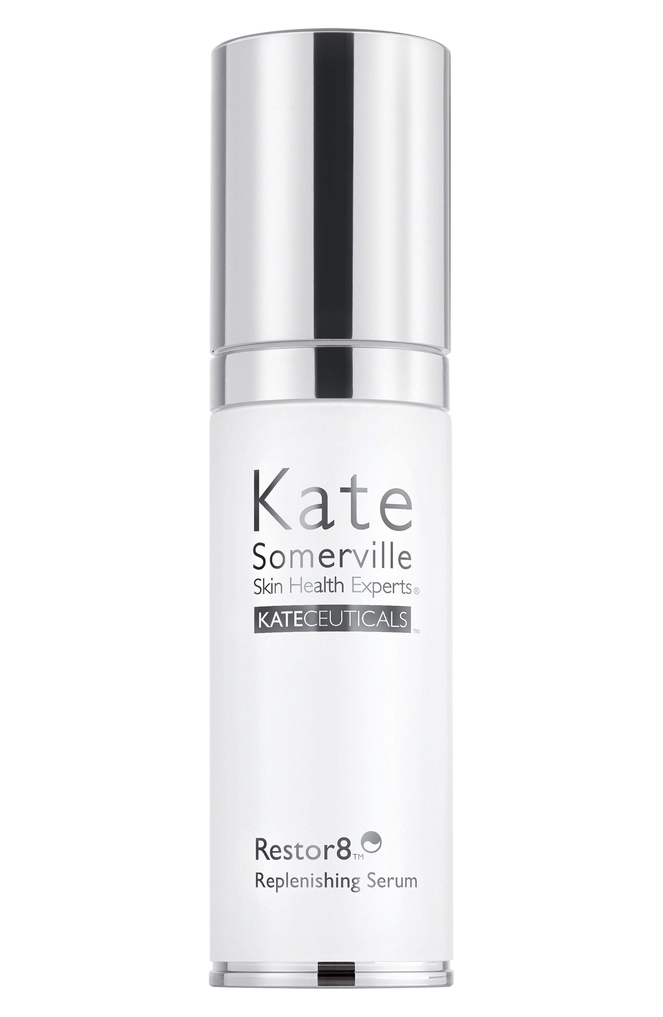 KATE SOMERVILLE<SUP>®</SUP> 'KateCeuticals<sup>™</sup>' Restor8 Replenishing Serum, Main, color, NO COLOR