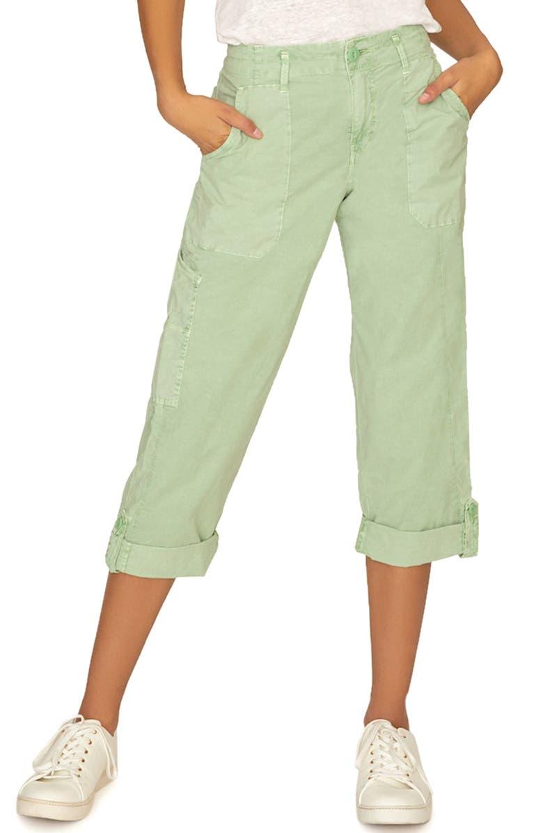 Sanctuary Pants EXPLORER PATCH POCKET CROP PANTS