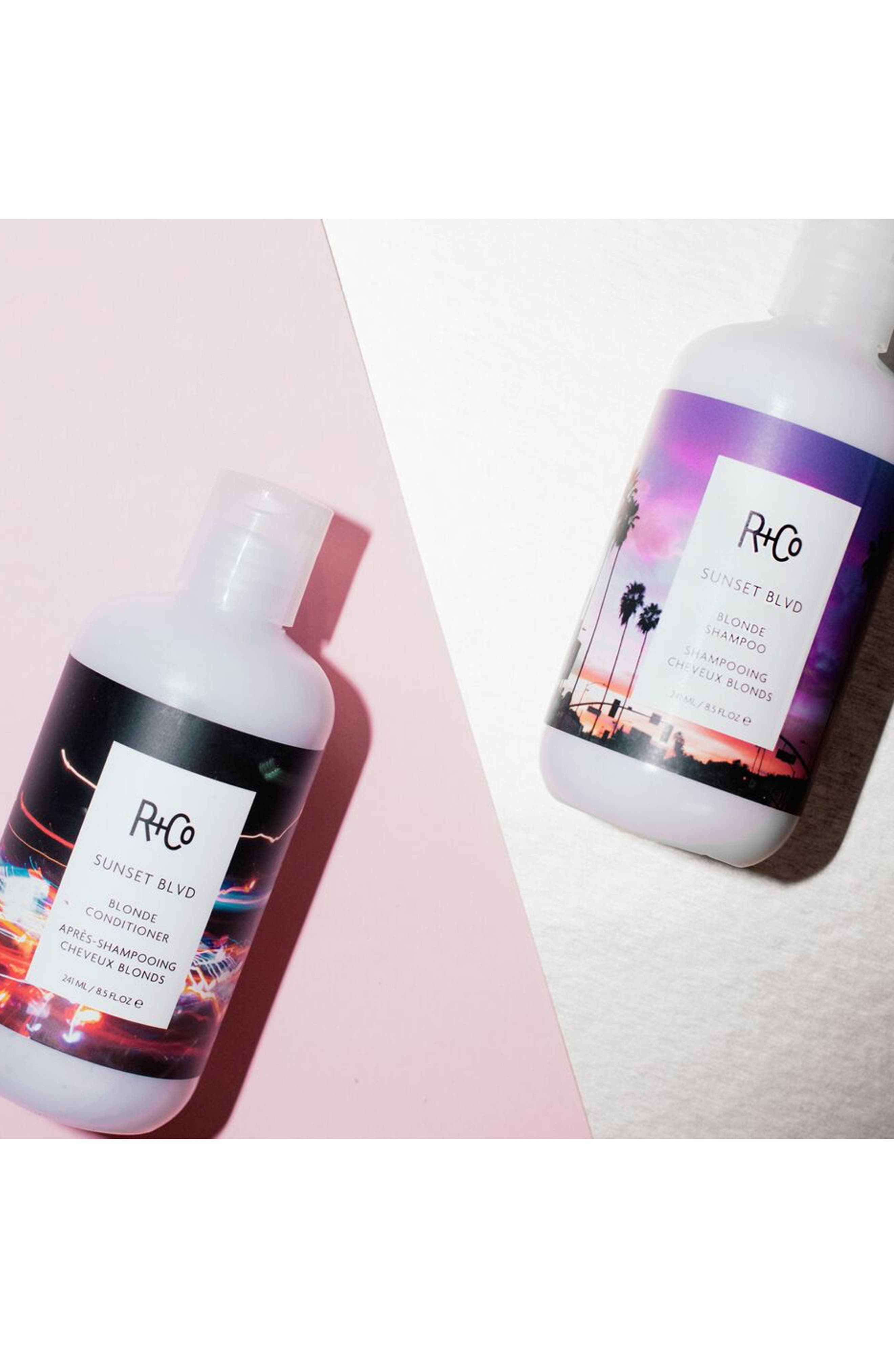 R+CO, SPACE.NK.apothecary R+Co Sunset Blvd Blonde Shampoo, Alternate thumbnail 4, color, 960