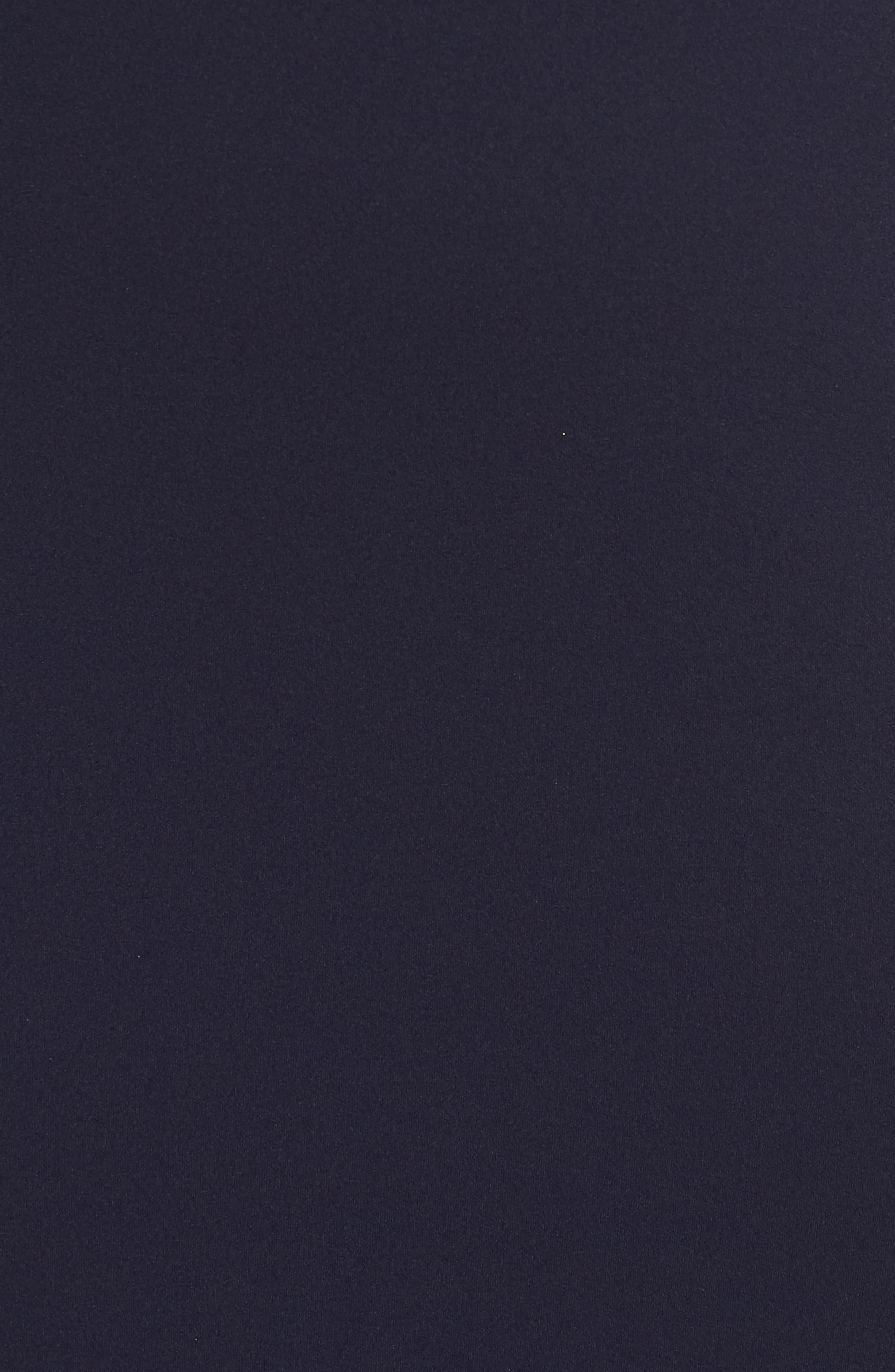 VINCE CAMUTO, Bateau Neck Gown, Alternate thumbnail 6, color, NAVY