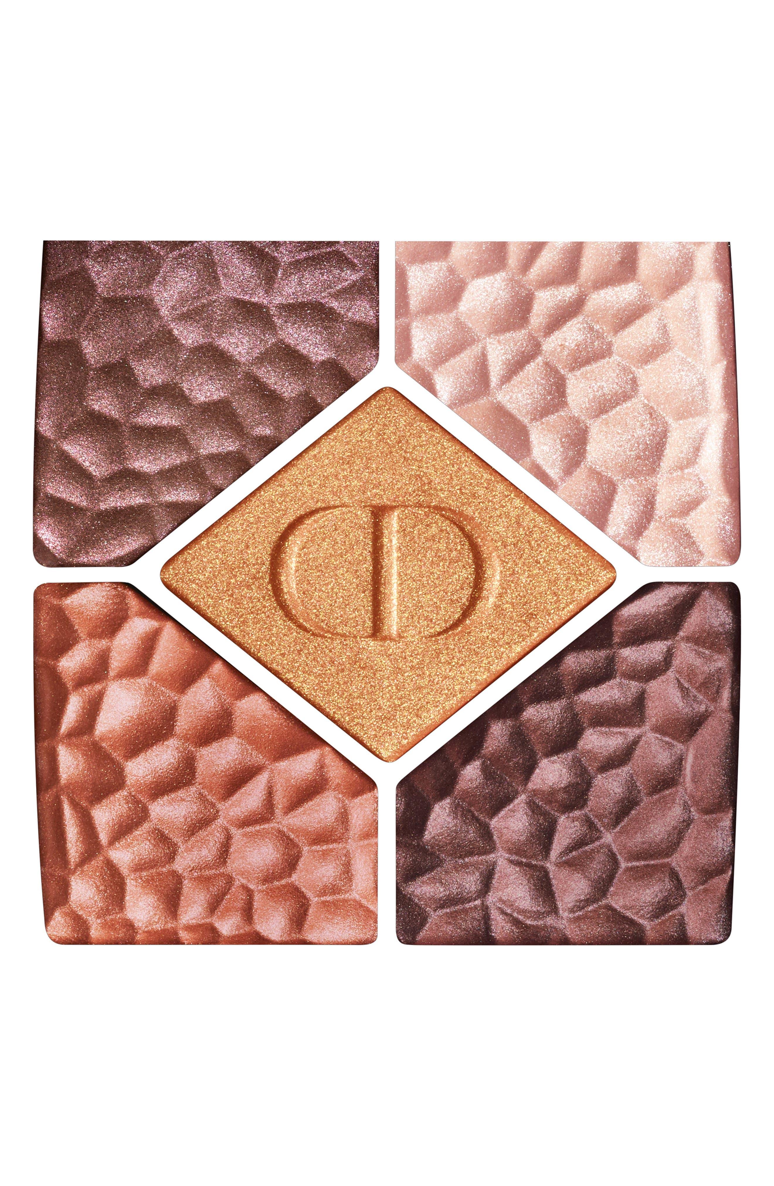 DIOR, Diorshow 5 Couleurs Colors & Effects Eyeshadow Palette, Alternate thumbnail 3, color, 786 TERRA